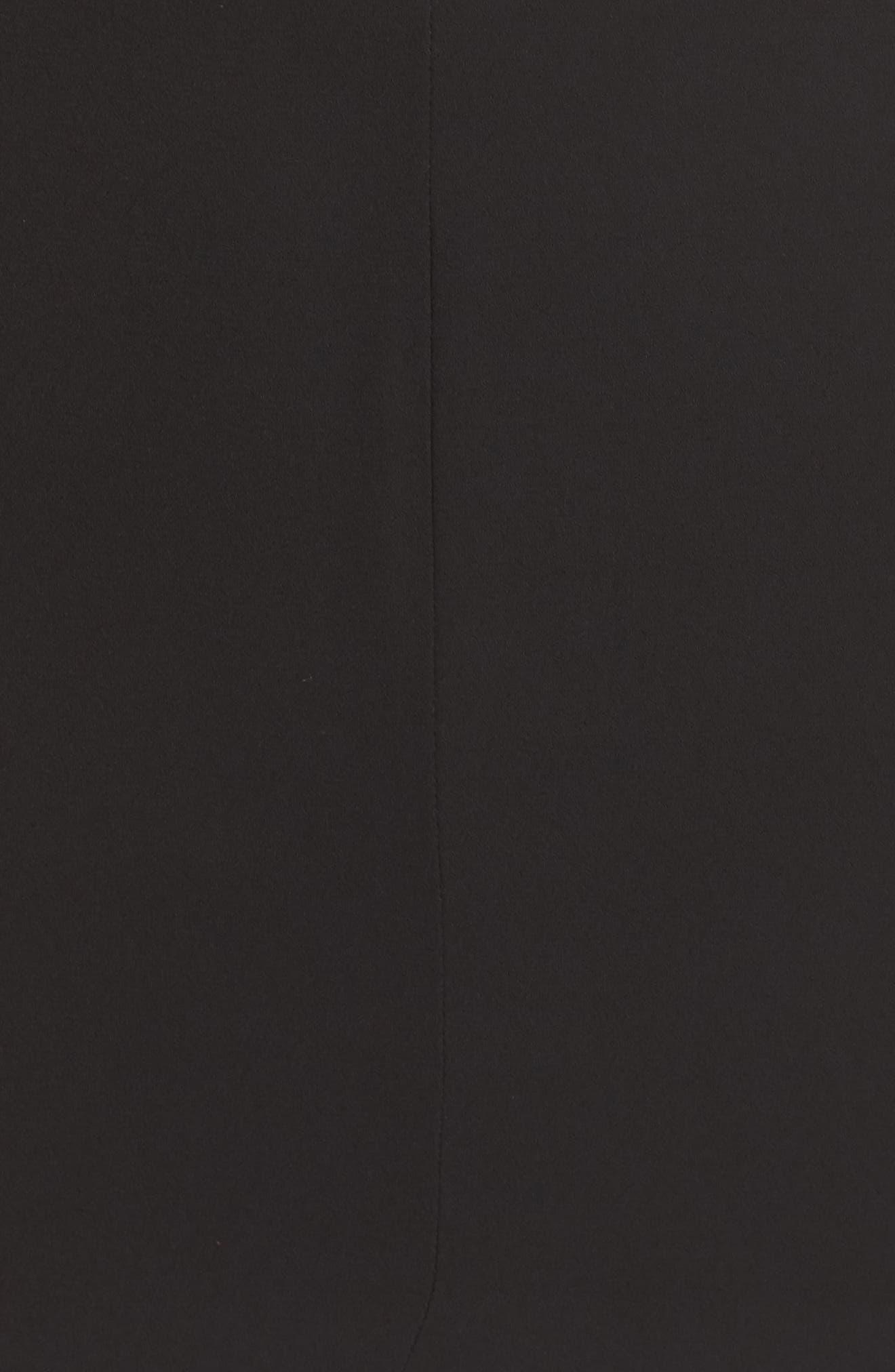 Nikita Gown,                             Alternate thumbnail 5, color,                             Black