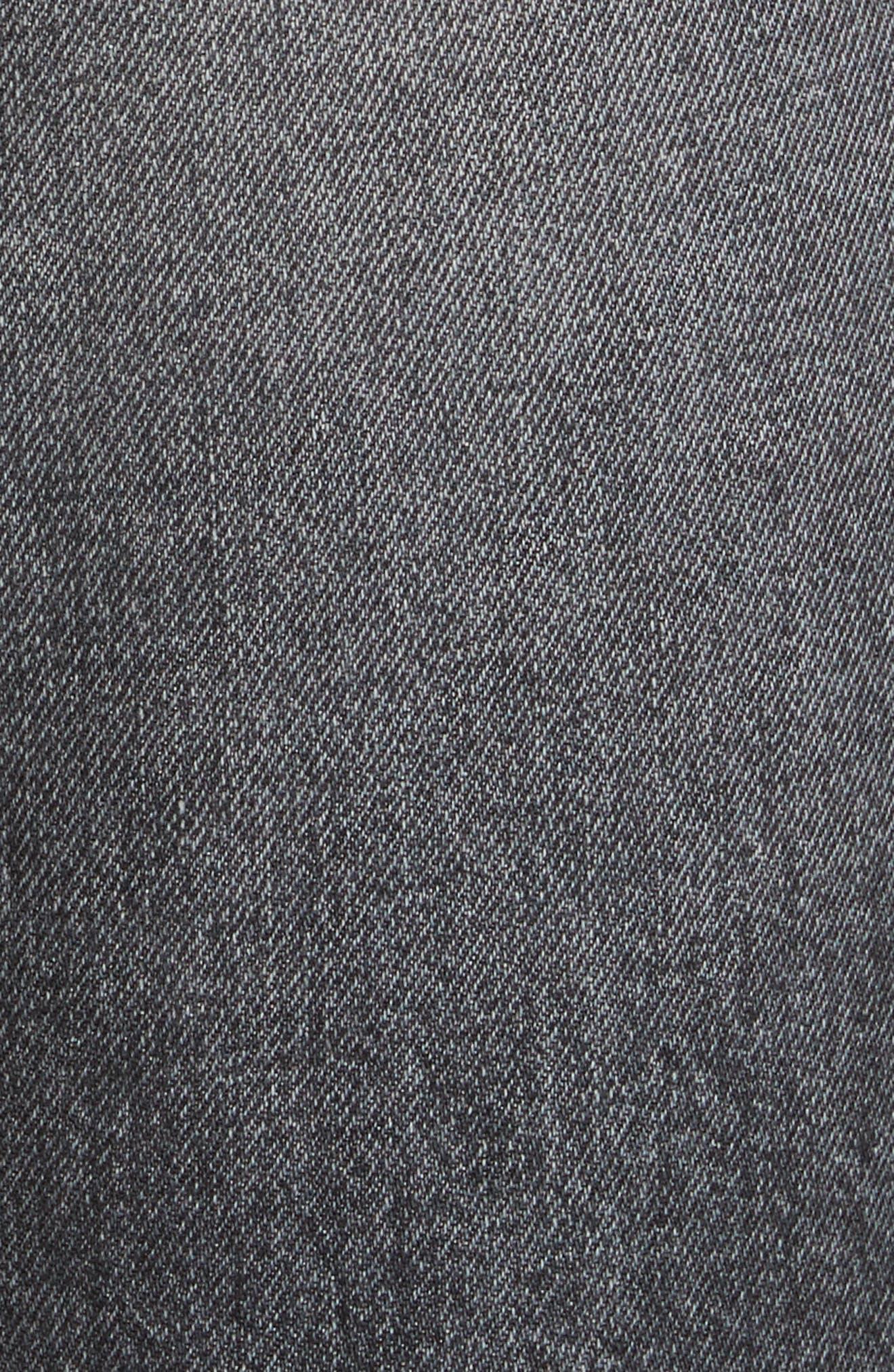 Karolina High Waist Skinny Jeans,                             Alternate thumbnail 5, color,                             Flint