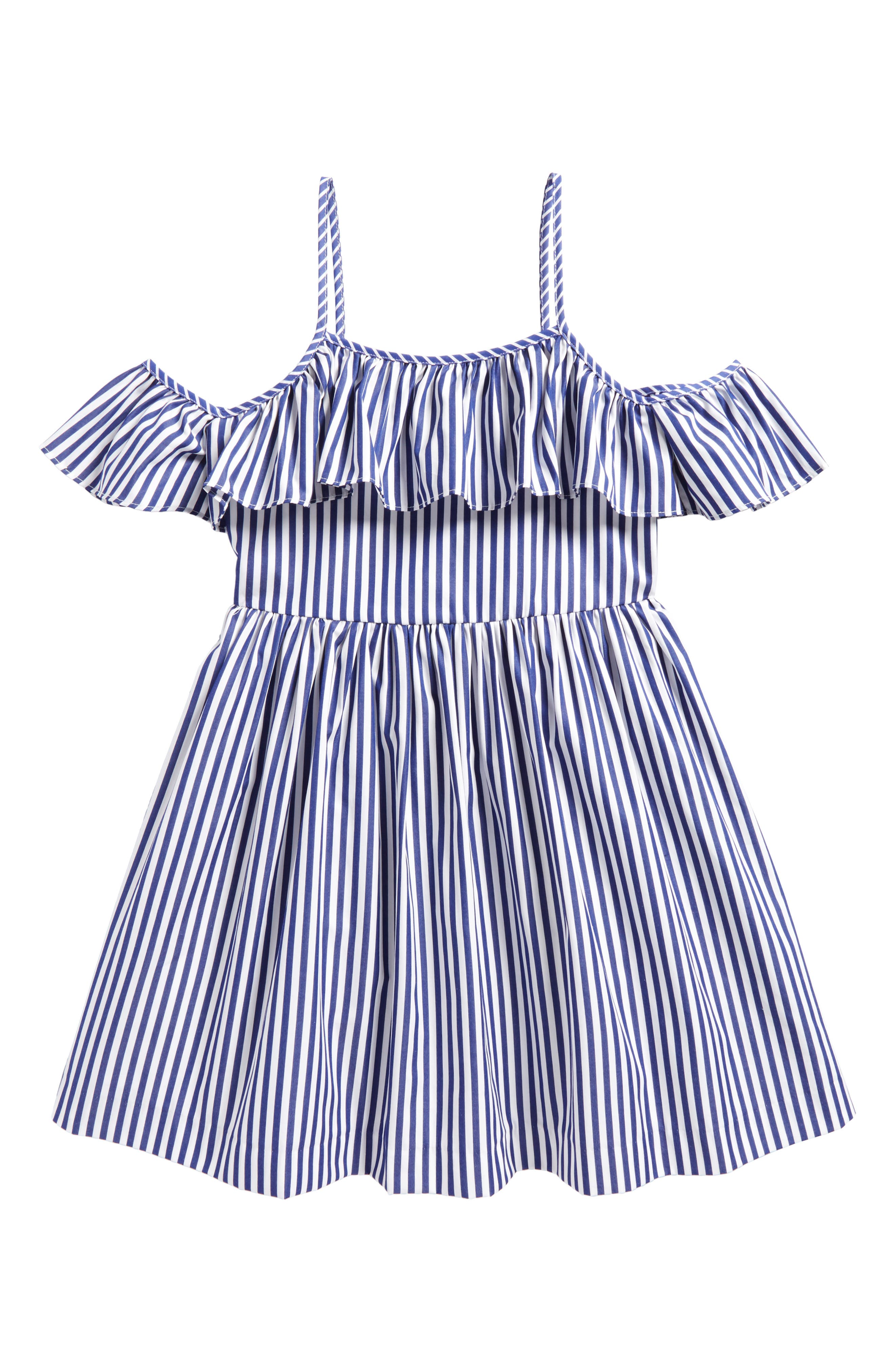 Alternate Image 1 Selected - Milly Minis Bella Dress (Big Girls)