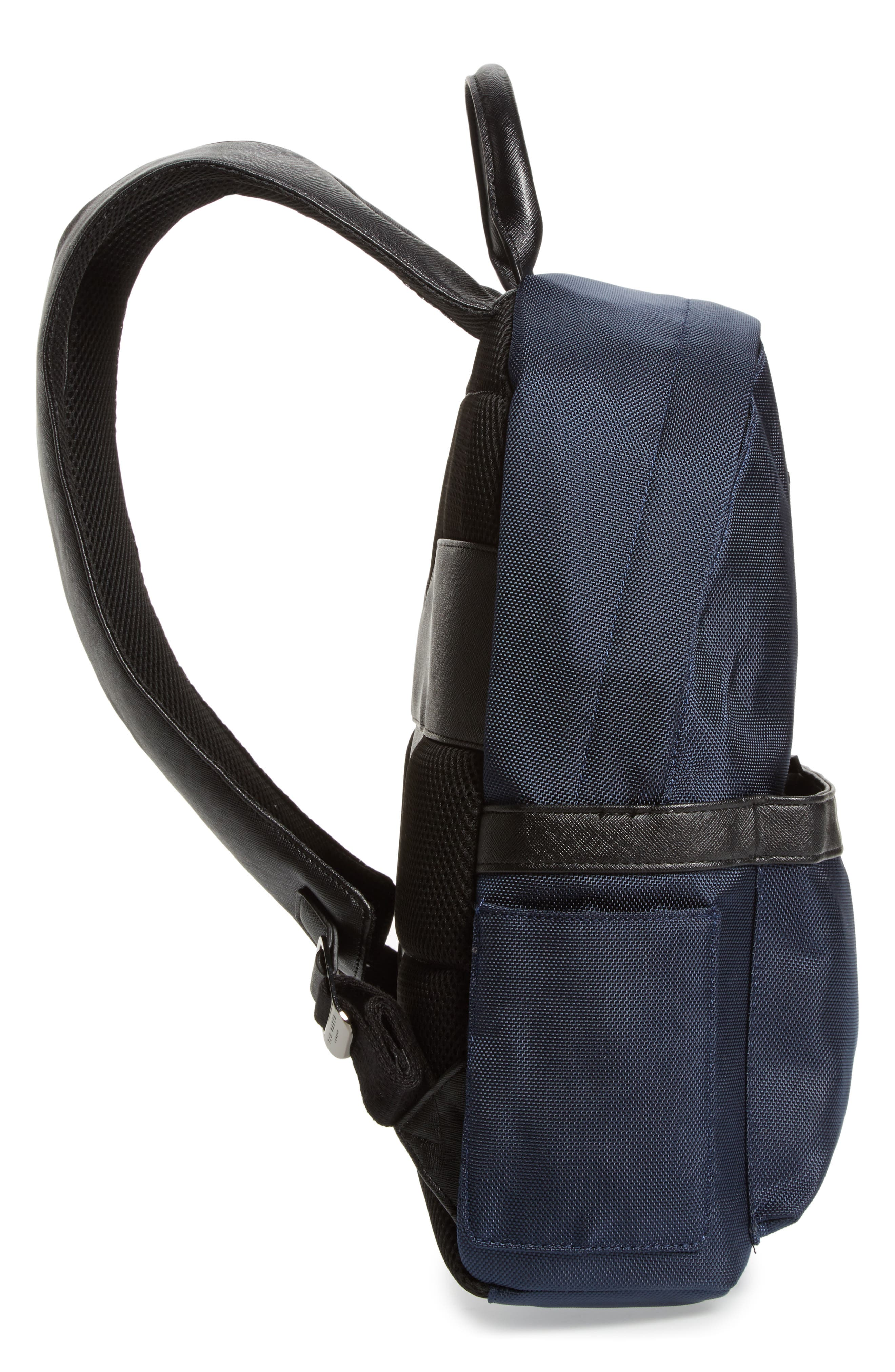 Radio Backpack,                             Alternate thumbnail 5, color,                             Navy