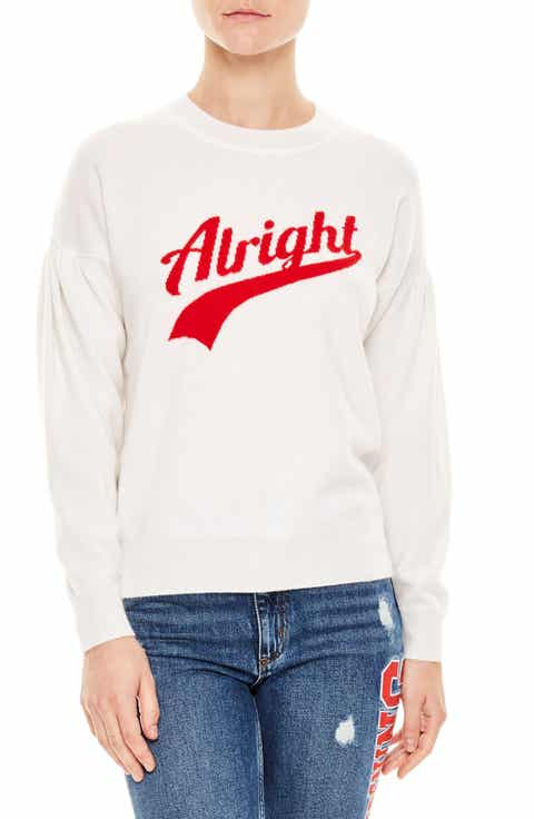 sandro Alright Wool & Cashmere Sweater