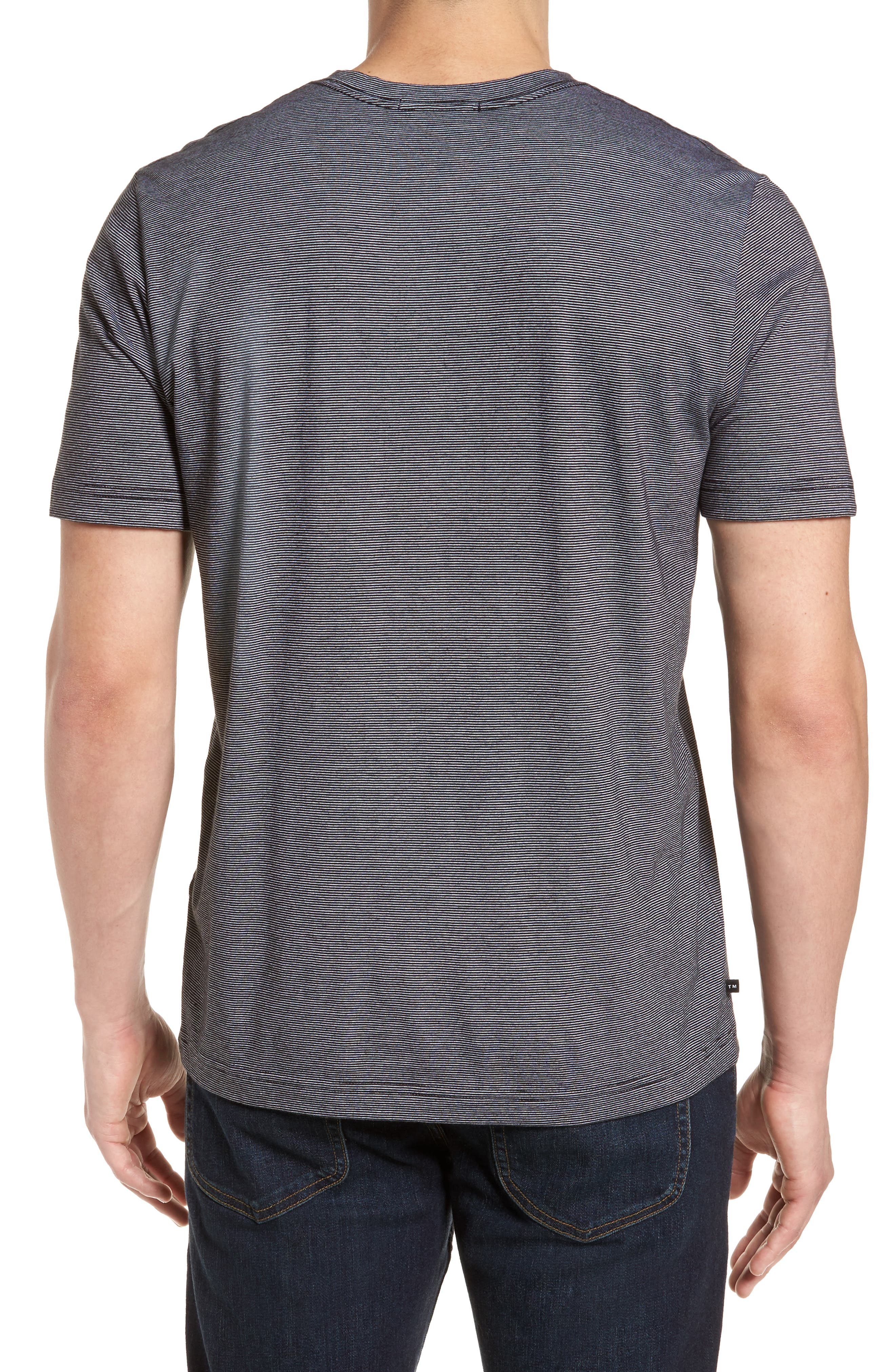 El Presidente T-Shirt,                             Alternate thumbnail 2, color,                             Black/ White