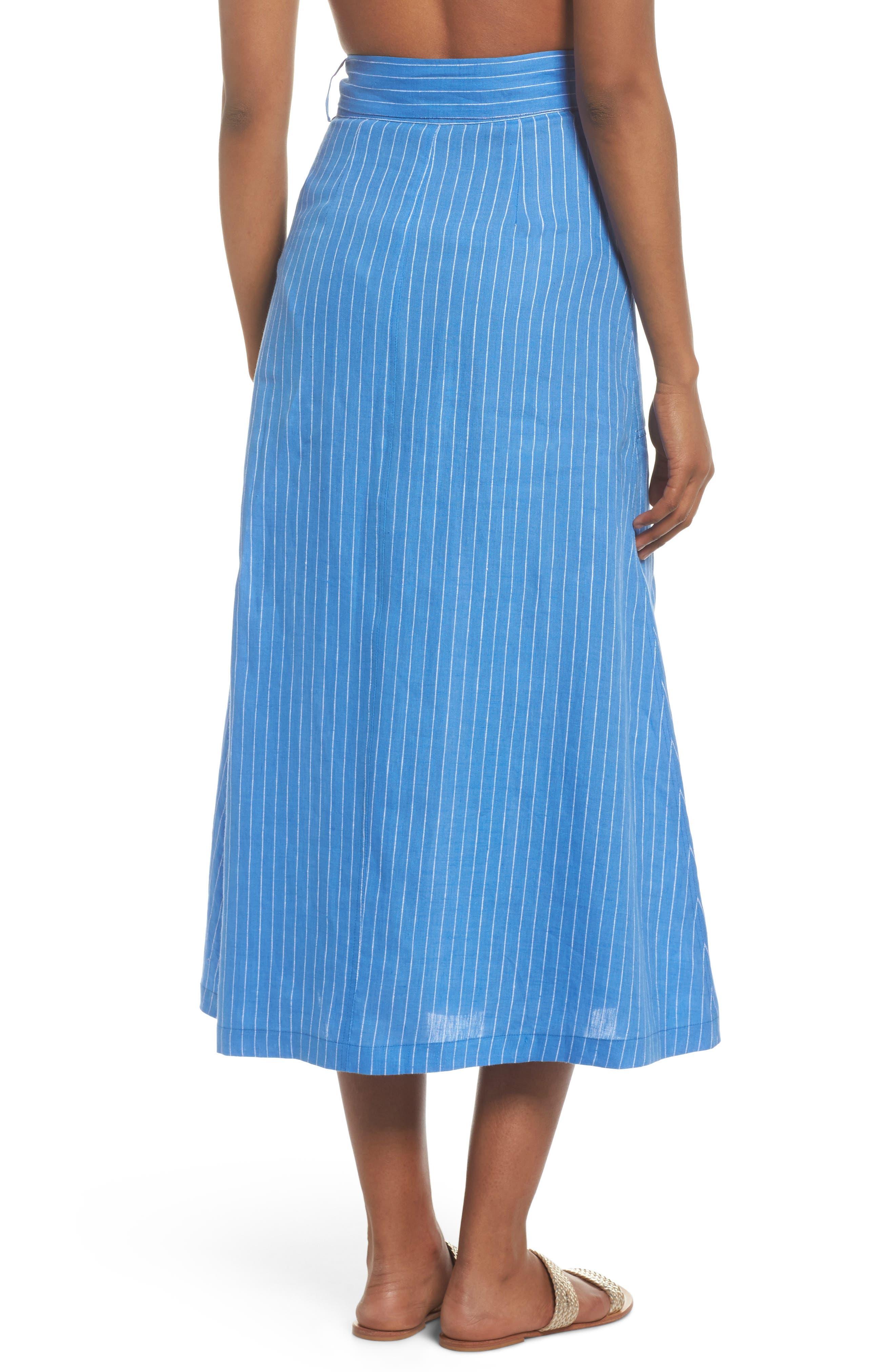 Cover-Up Skirt,                             Alternate thumbnail 2, color,                             Hydrangea/ Ivory