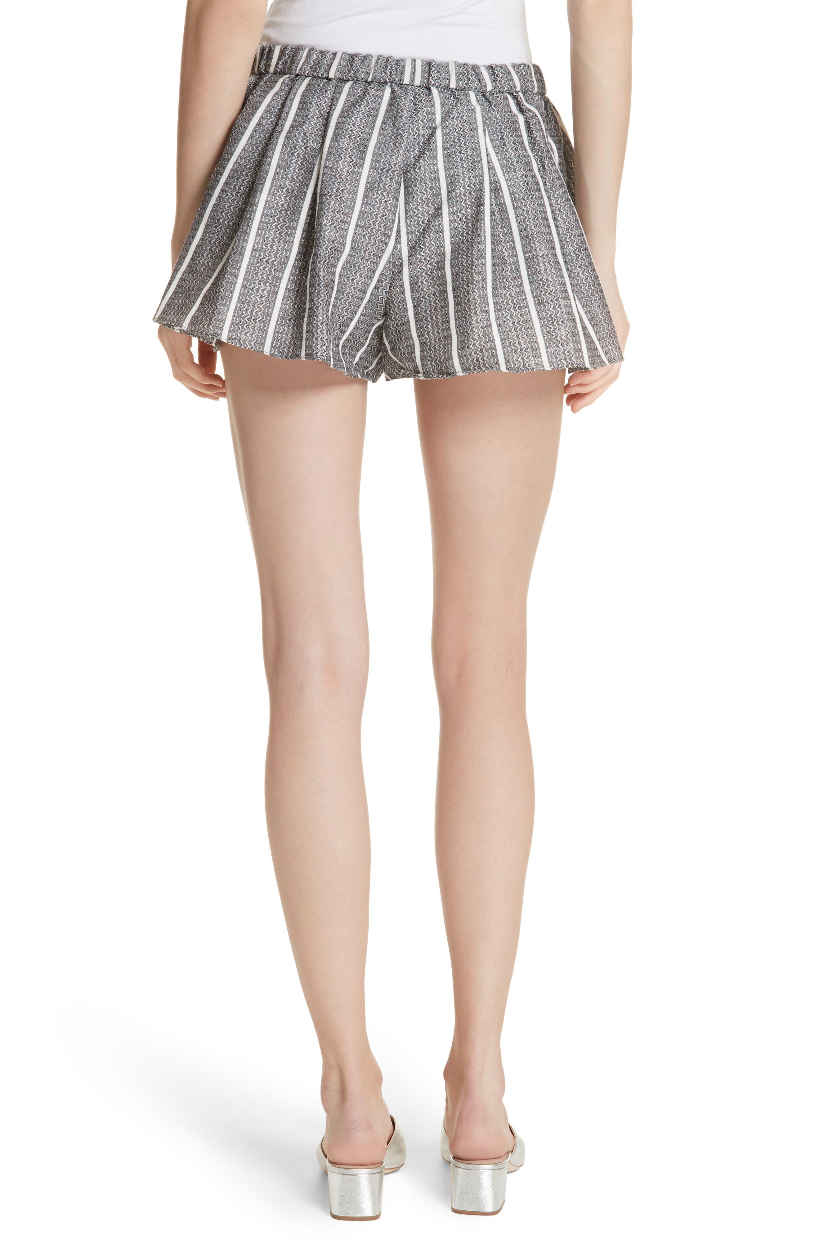 Alternate Image 2  - Caroline Constas Pleated Shorts
