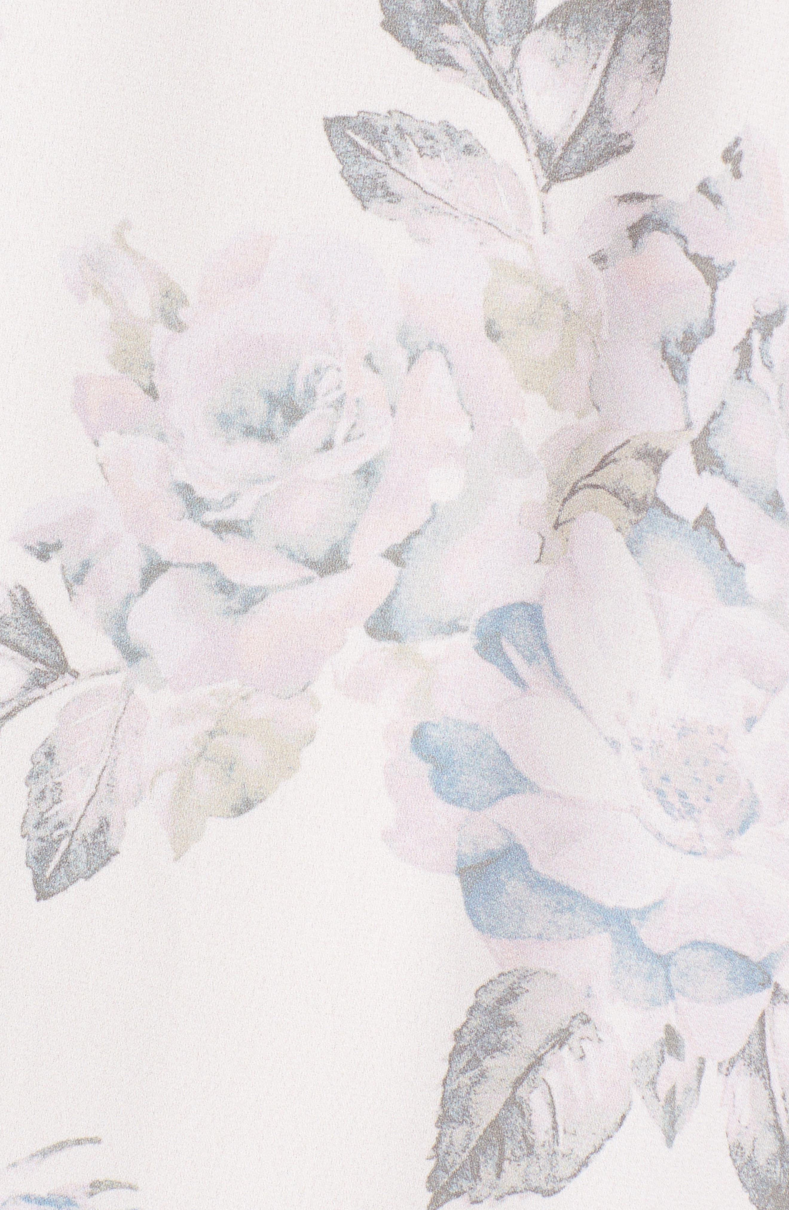 Gomez Halter Minidress,                             Alternate thumbnail 5, color,                             Everlasting Rose
