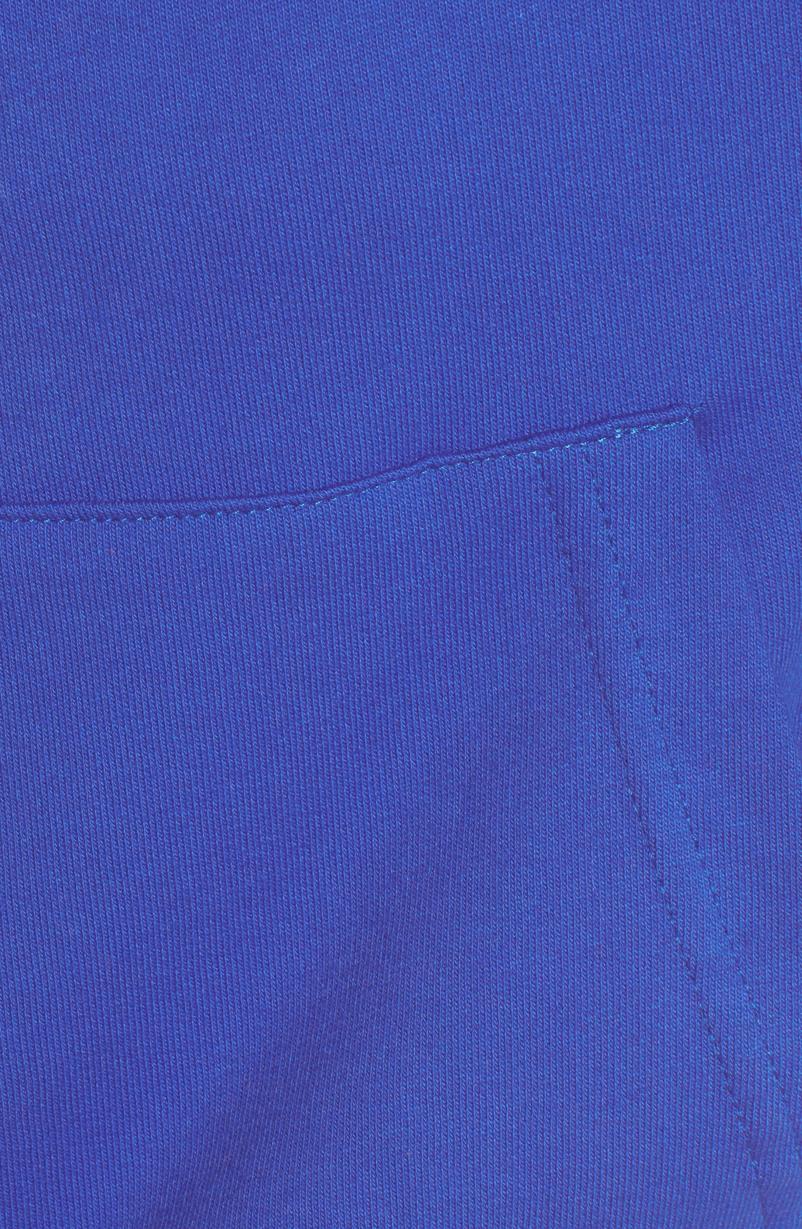 ME. Rose Pullover Hoodie,                             Alternate thumbnail 6, color,                             Royal Blue