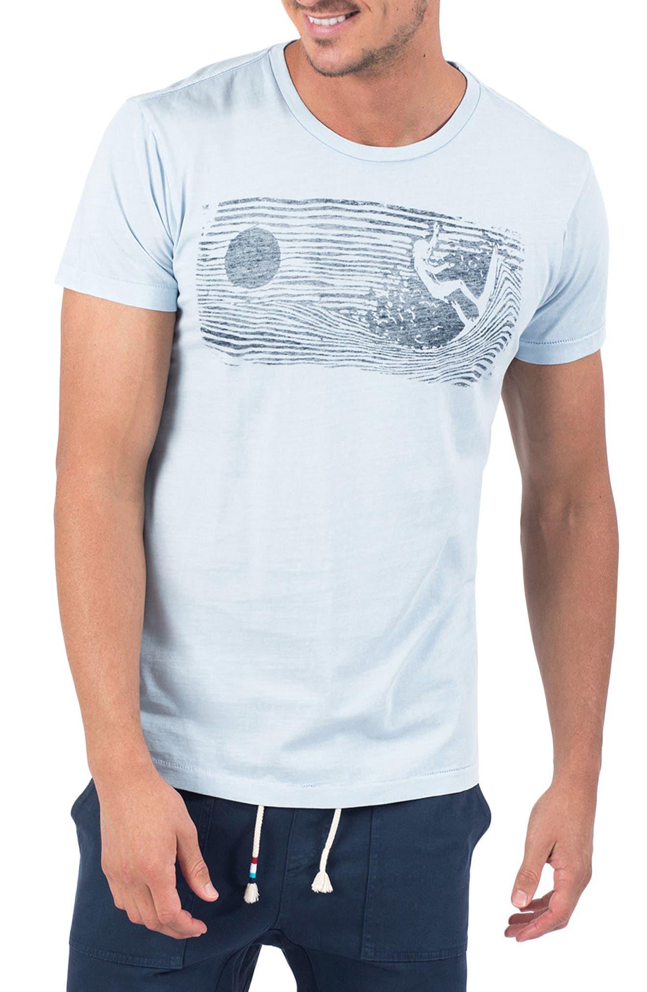Wood Grain Flow T-Shirt,                             Main thumbnail 1, color,                             Mist