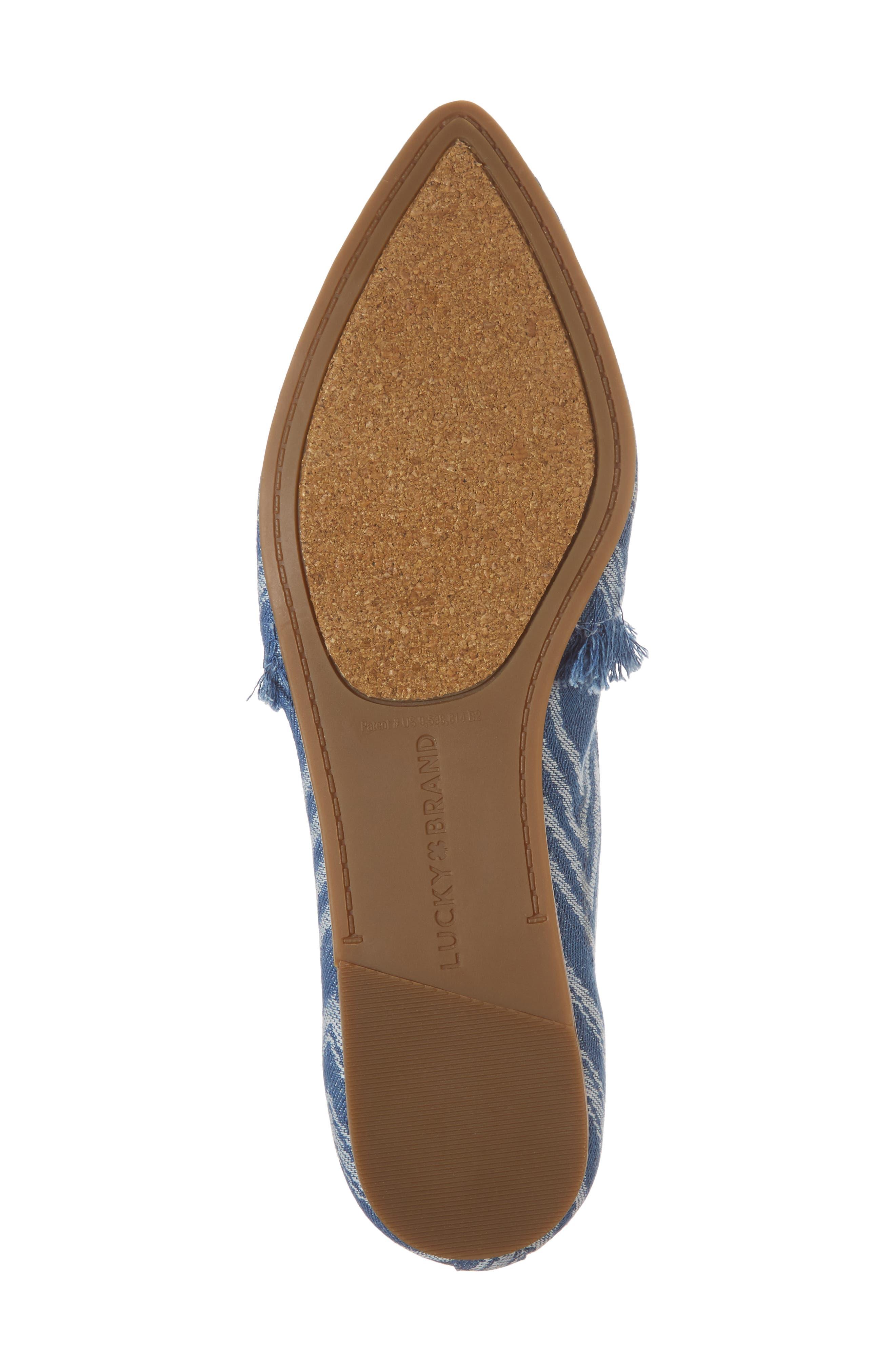 Alternate Image 6  - Lucky Brand Beechmer Pointy Toe Flat (Women)