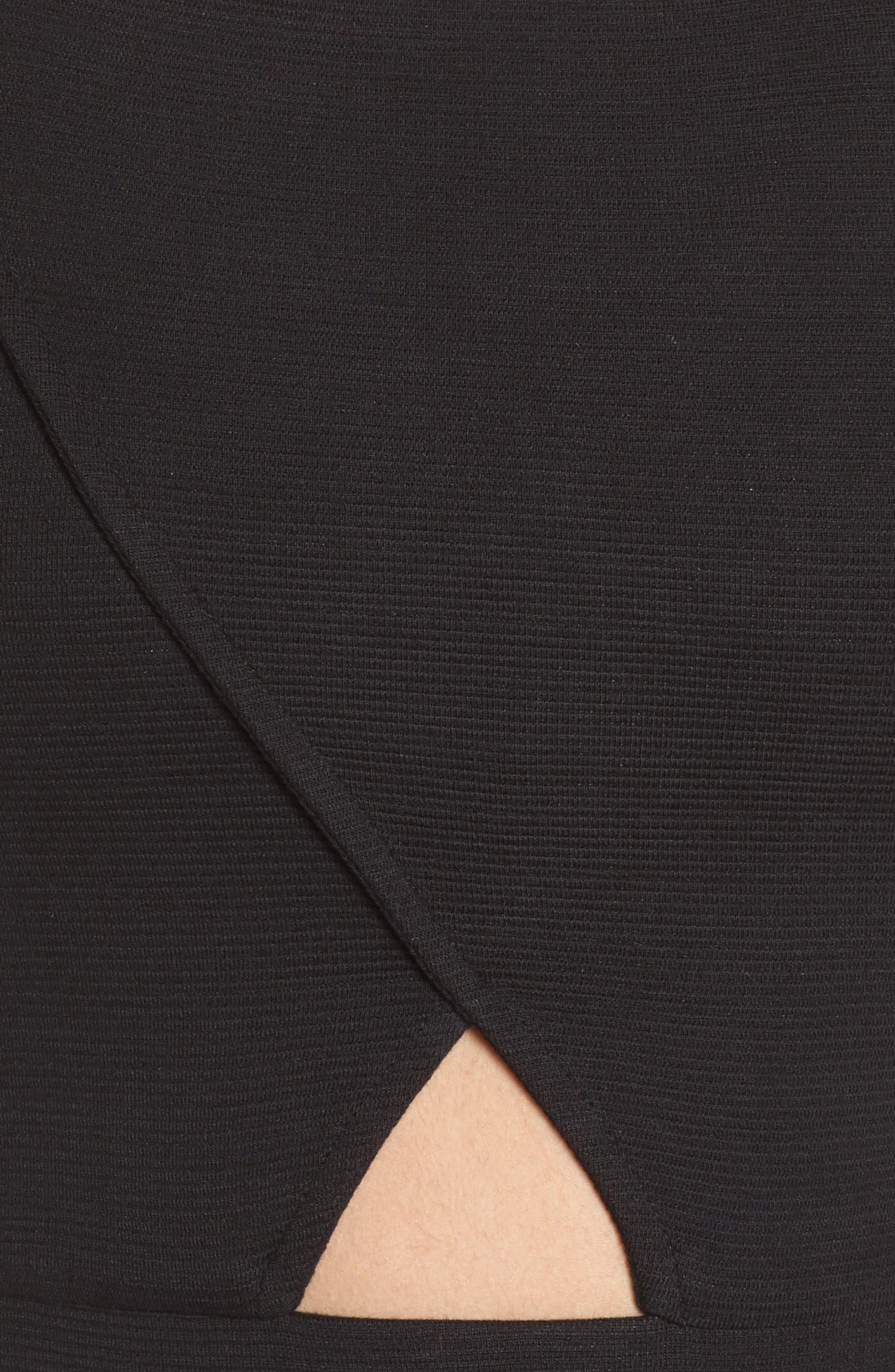 Archive Crop Top,                             Alternate thumbnail 6, color,                             Puma Black