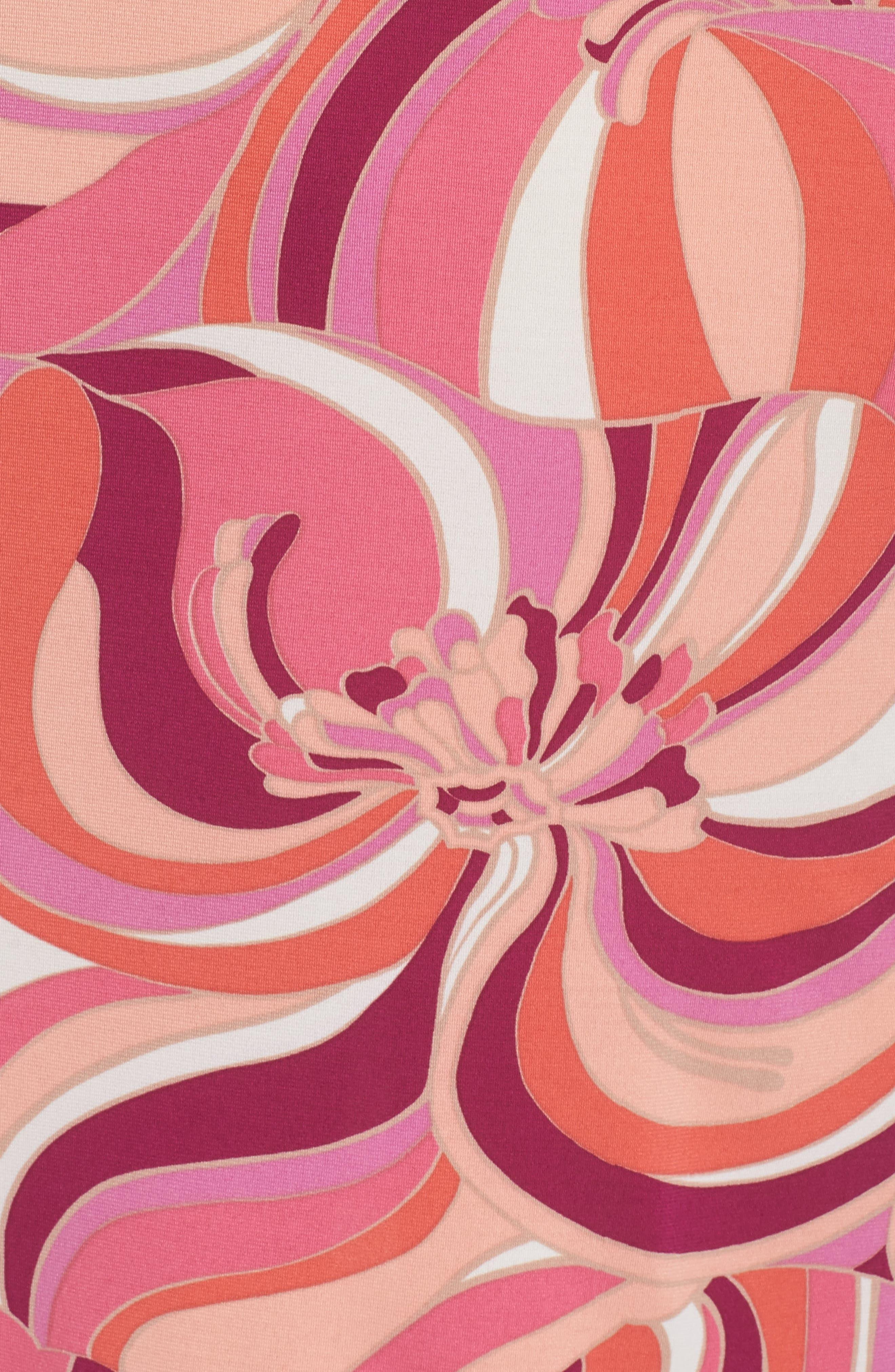Viola Cold Shoulder Dress,                             Alternate thumbnail 5, color,                             Purple Dahlia