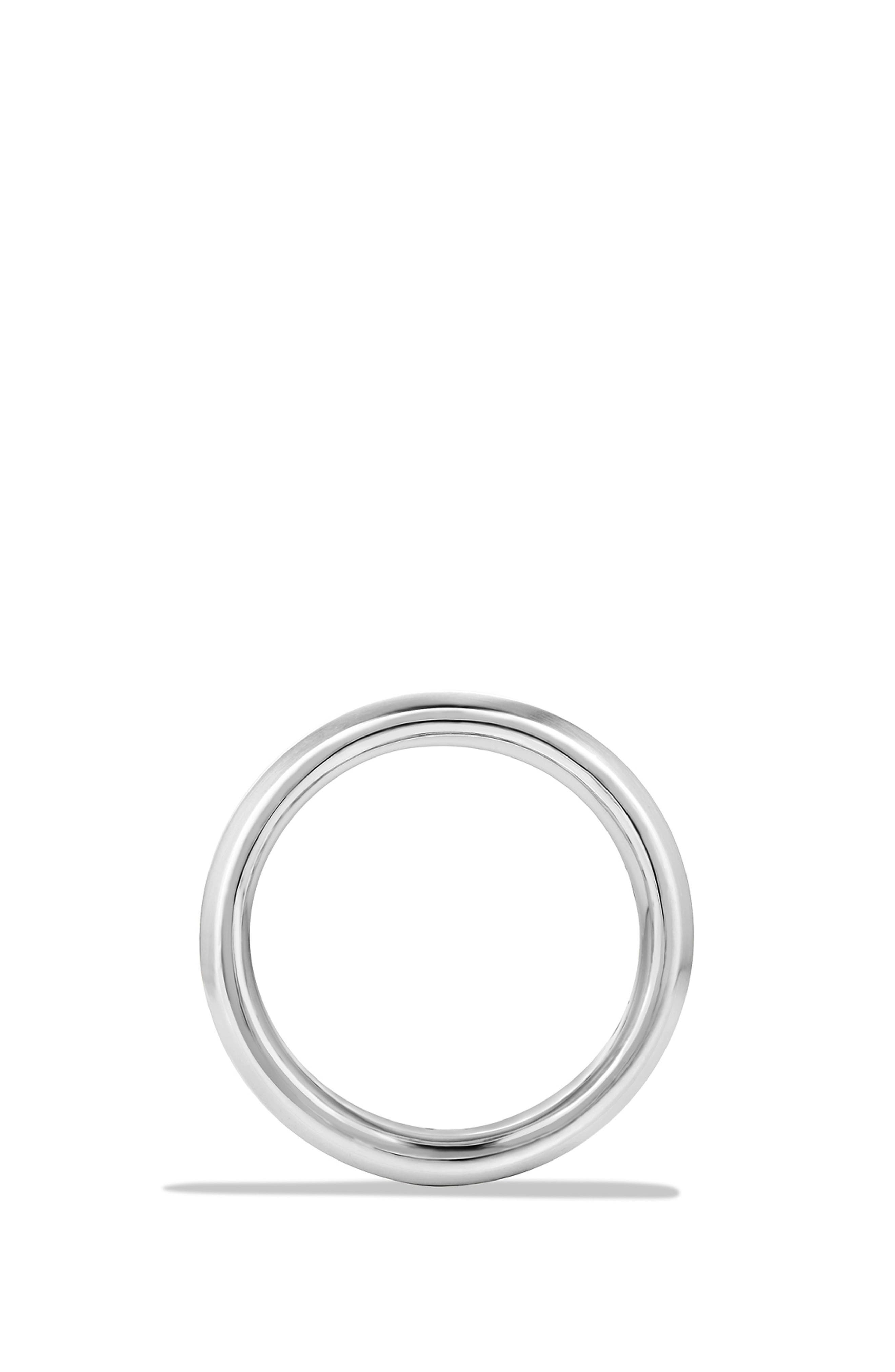 'Cable Classics' Band Ring,                             Alternate thumbnail 2, color,                             Silver/ Forged Carbon