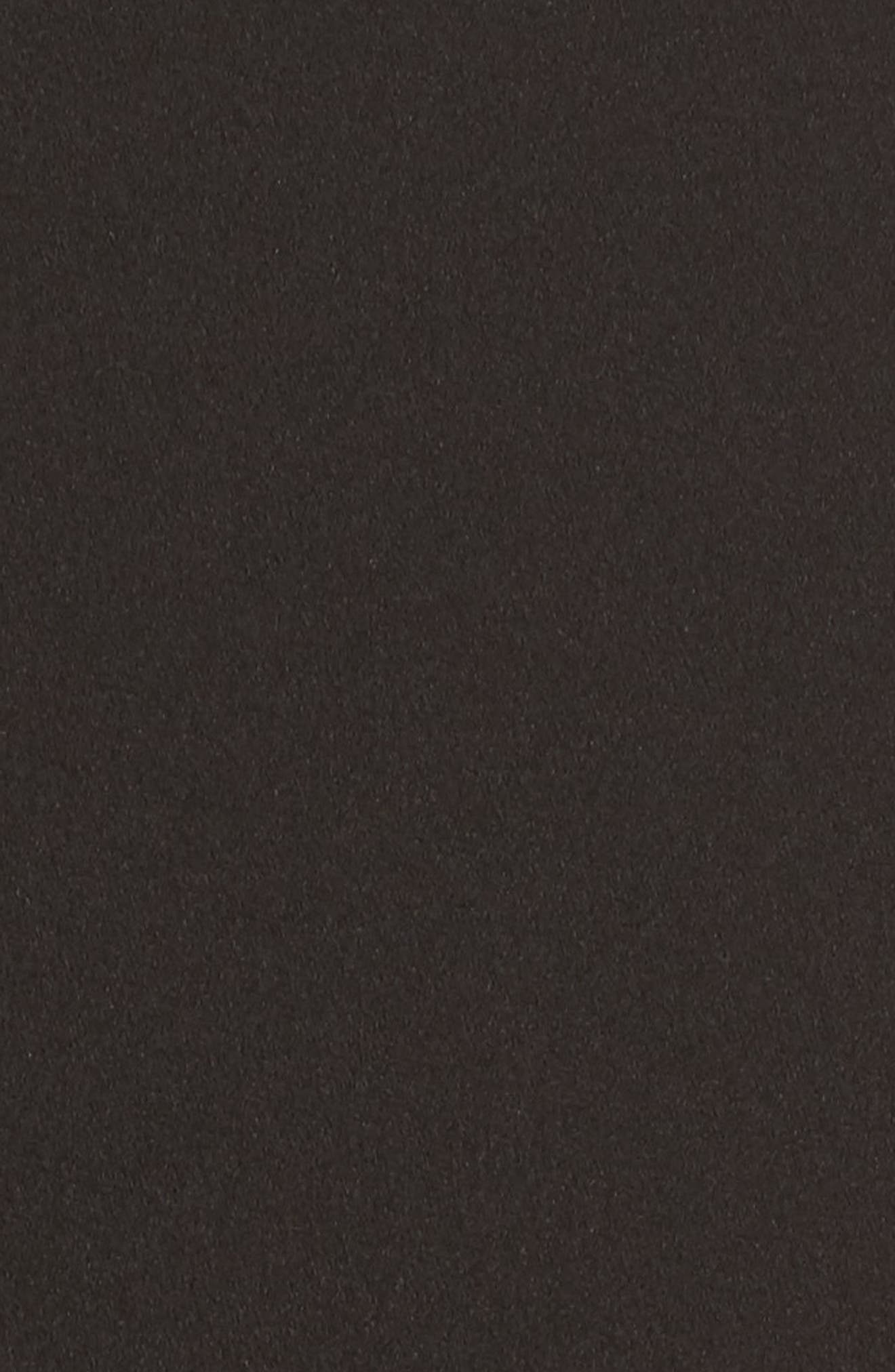 High Neck Sheath Dress,                             Alternate thumbnail 6, color,                             Black