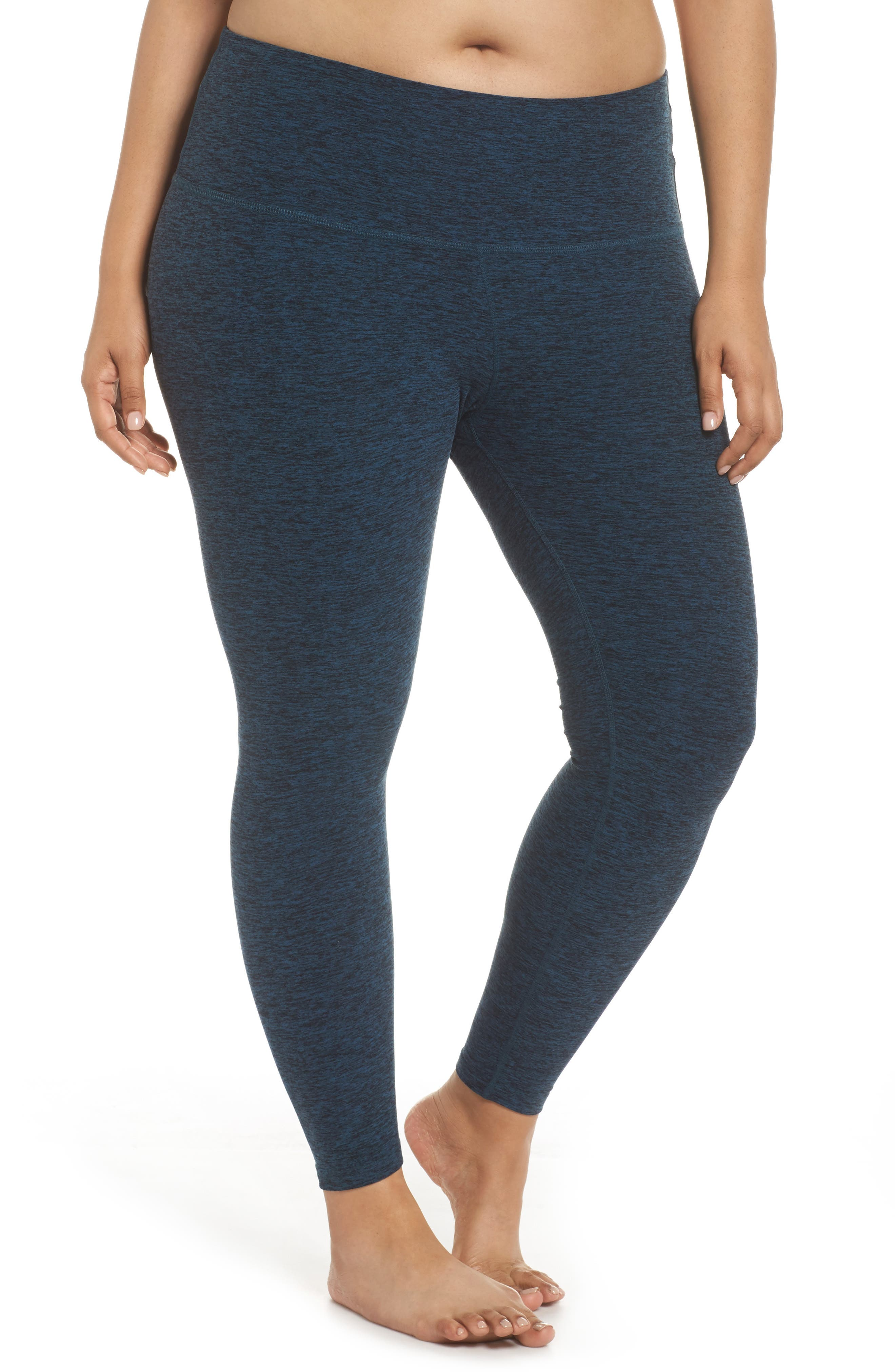 Beyond Yoga High Waist Midi Leggings (Plus Size)