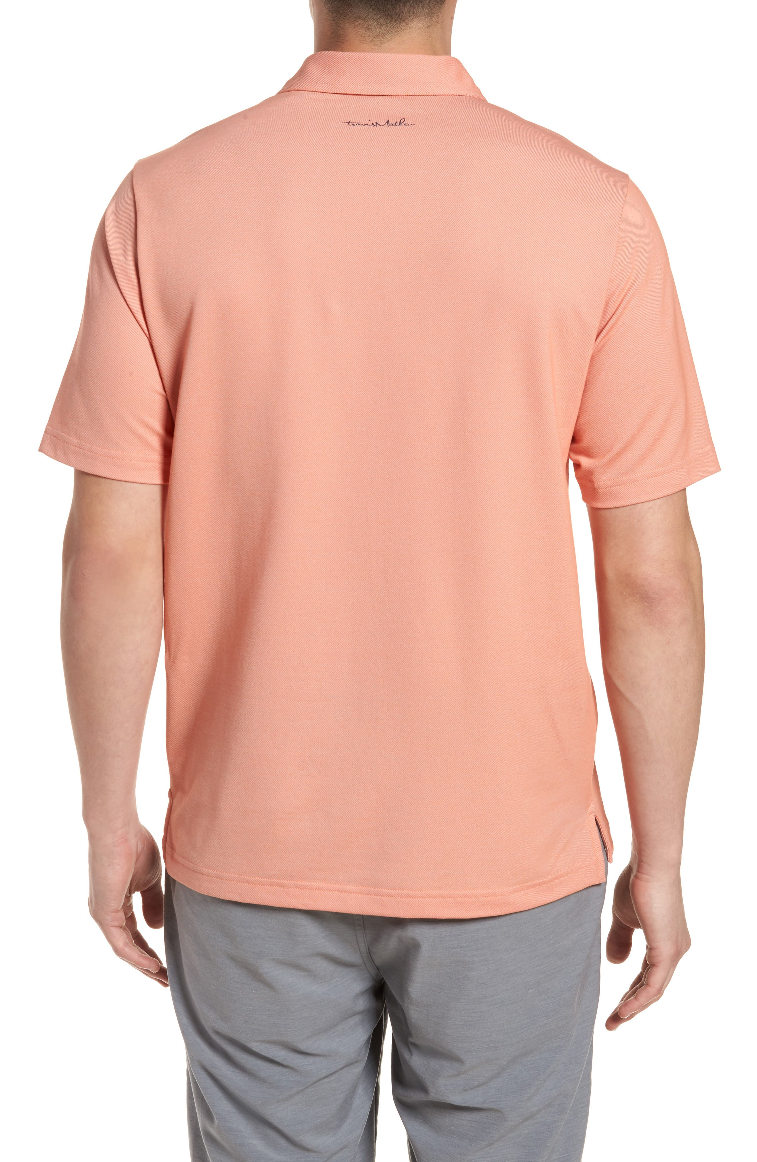 Happy Jelly Regular Fit Polo,                             Alternate thumbnail 2, color,                             Flamingo/ Micro Chip