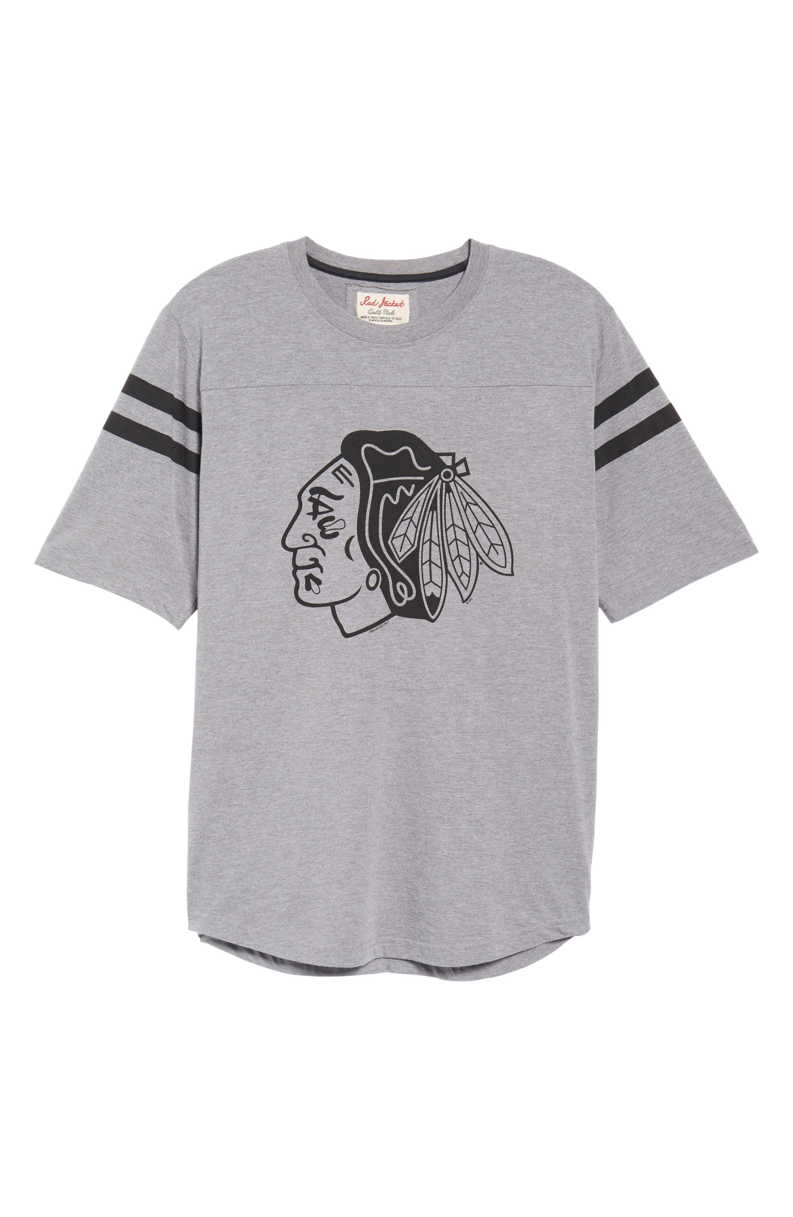 Crosby Chicago Blackhawks T-Shirt,                             Alternate thumbnail 6, color,                             Heather Grey