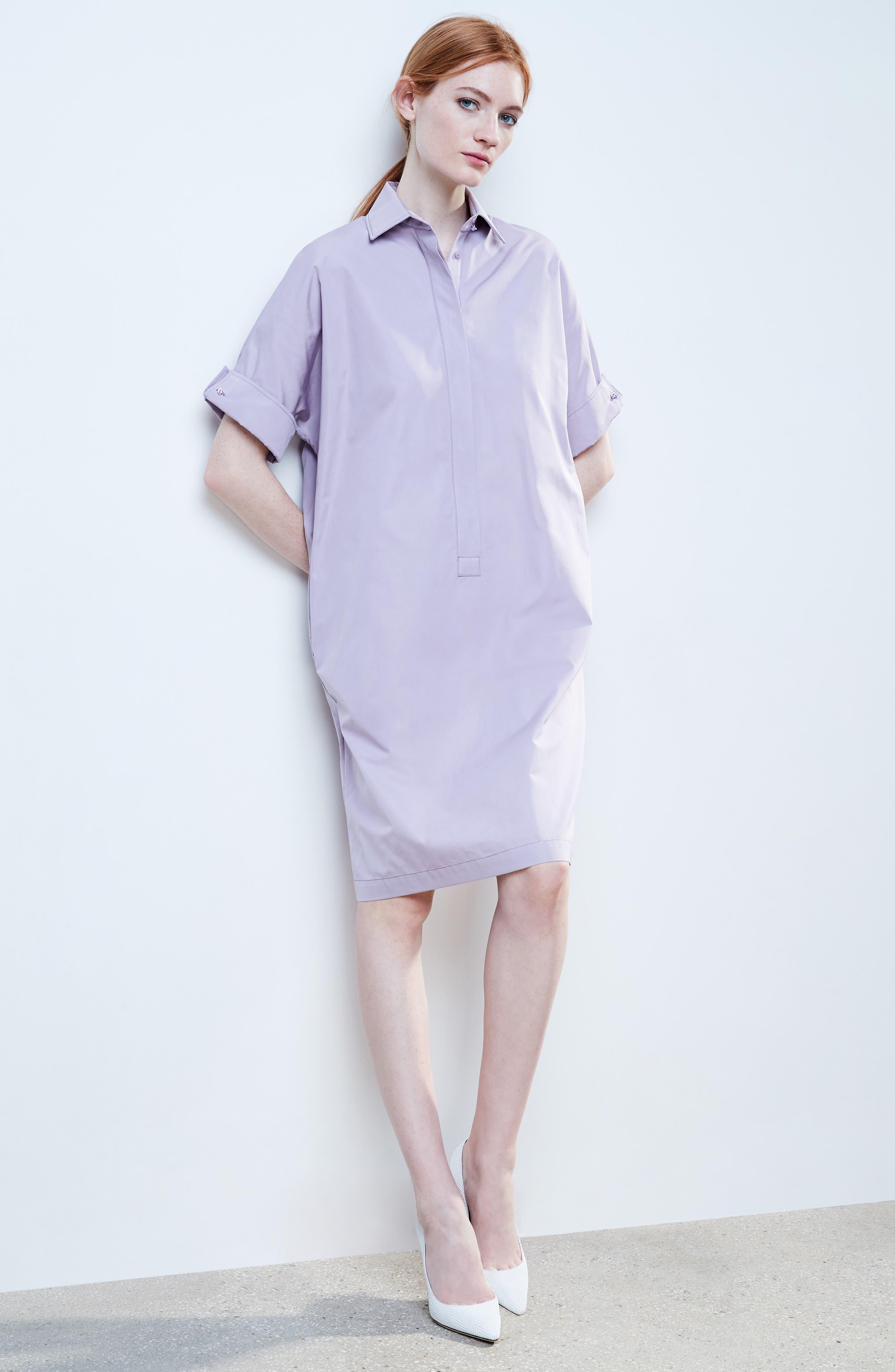 Alternate Image 2  - Max Mara Baccano Cotton Shirtdress