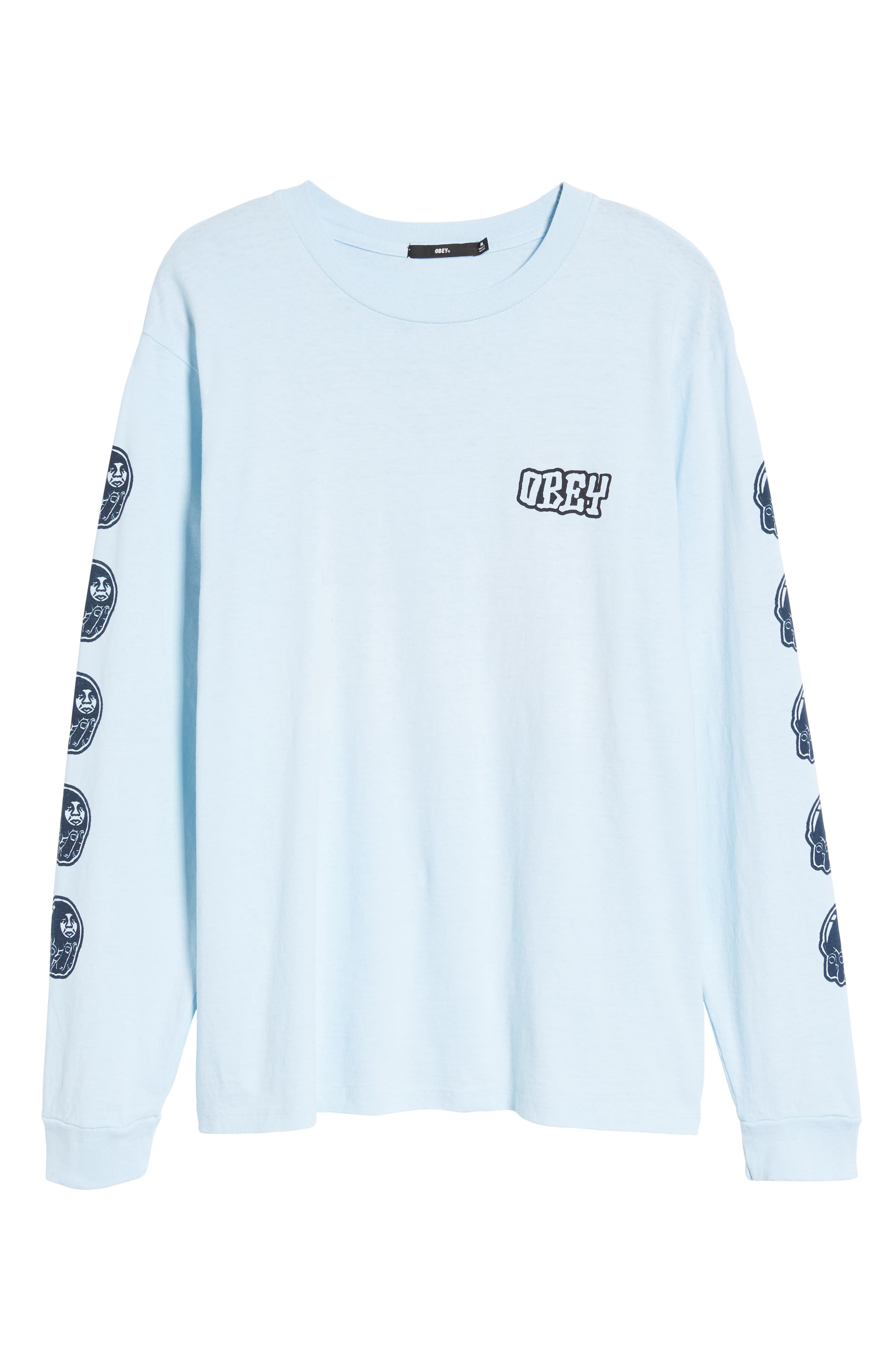 Unwritten Future Graphic T-Shirt,                             Alternate thumbnail 6, color,                             Dusty Blue