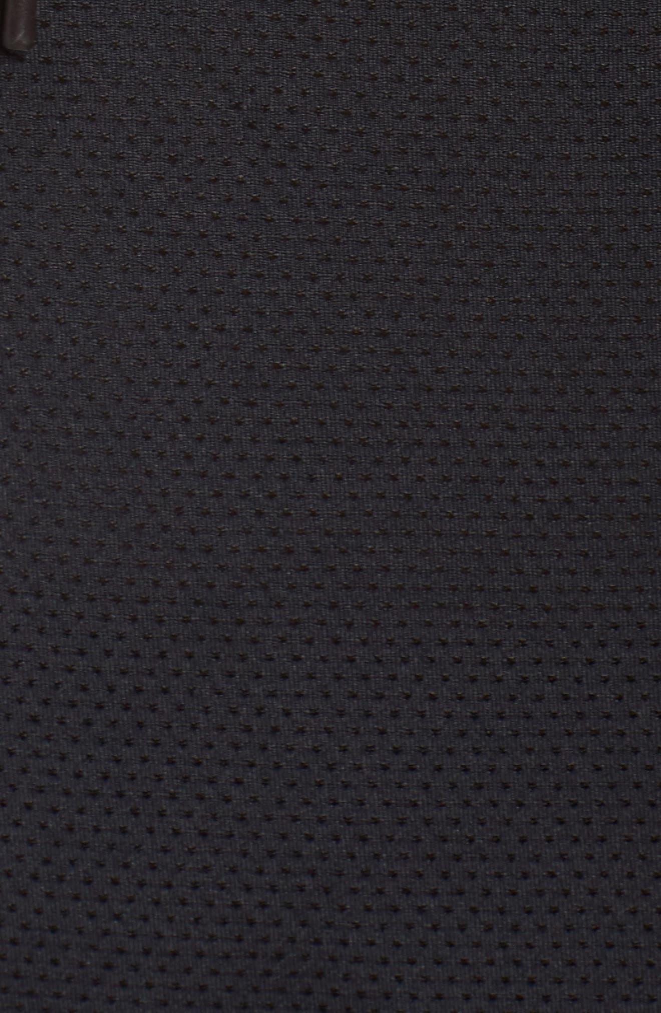 Endurance Hoodie Vest,                             Alternate thumbnail 6, color,                             Black