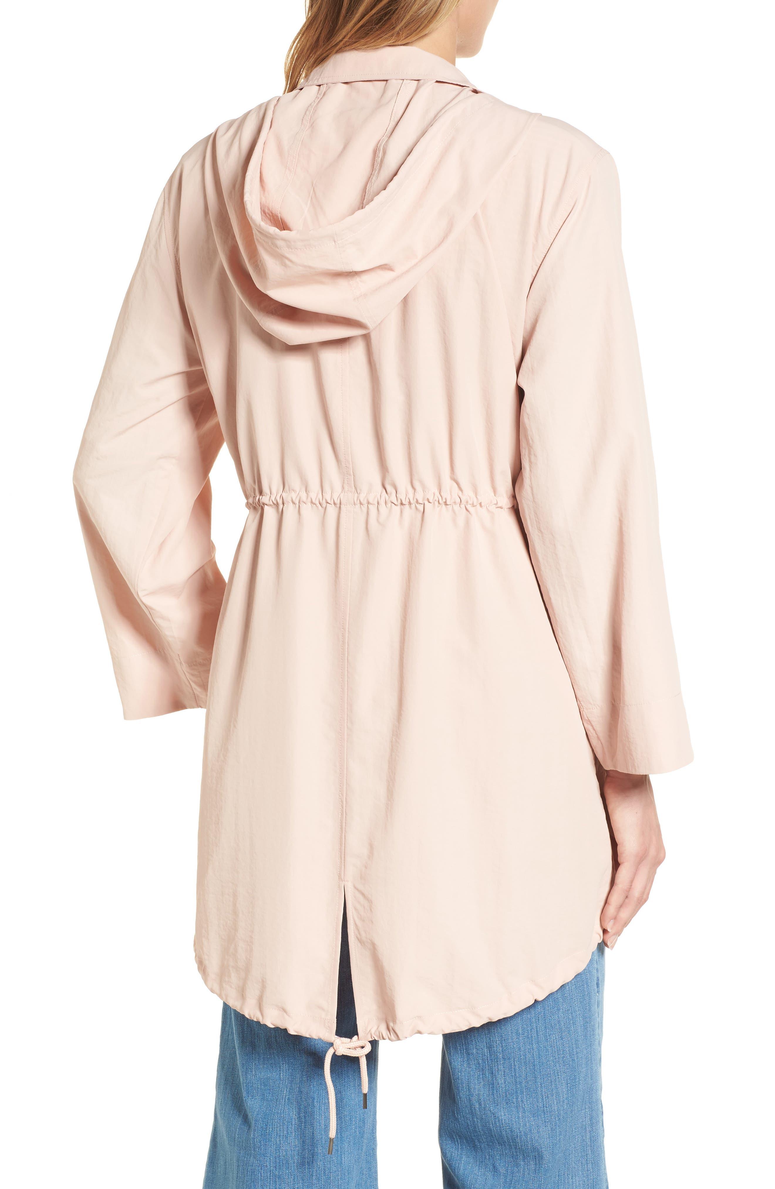 Alternate Image 2  - Caslon® Tumbled Anorak Jacket (Regular & Petite)