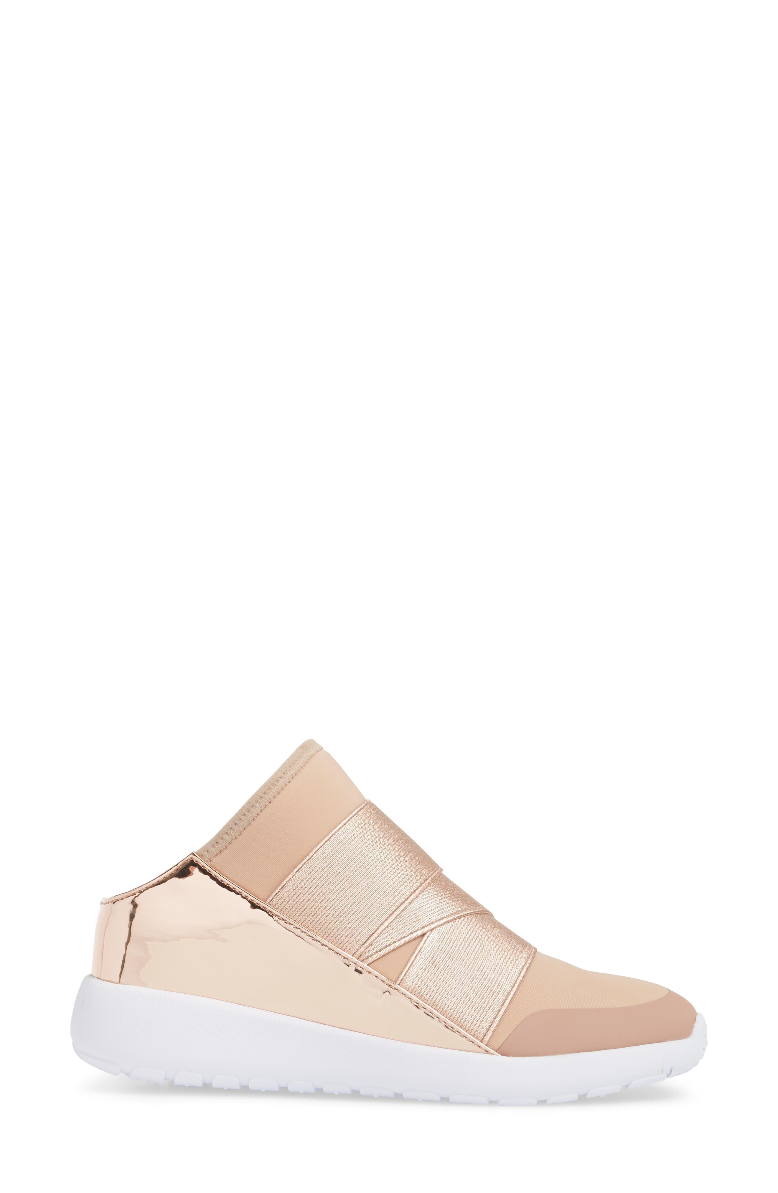 Vine Slip-On Sneaker,                             Alternate thumbnail 3, color,                             Blush