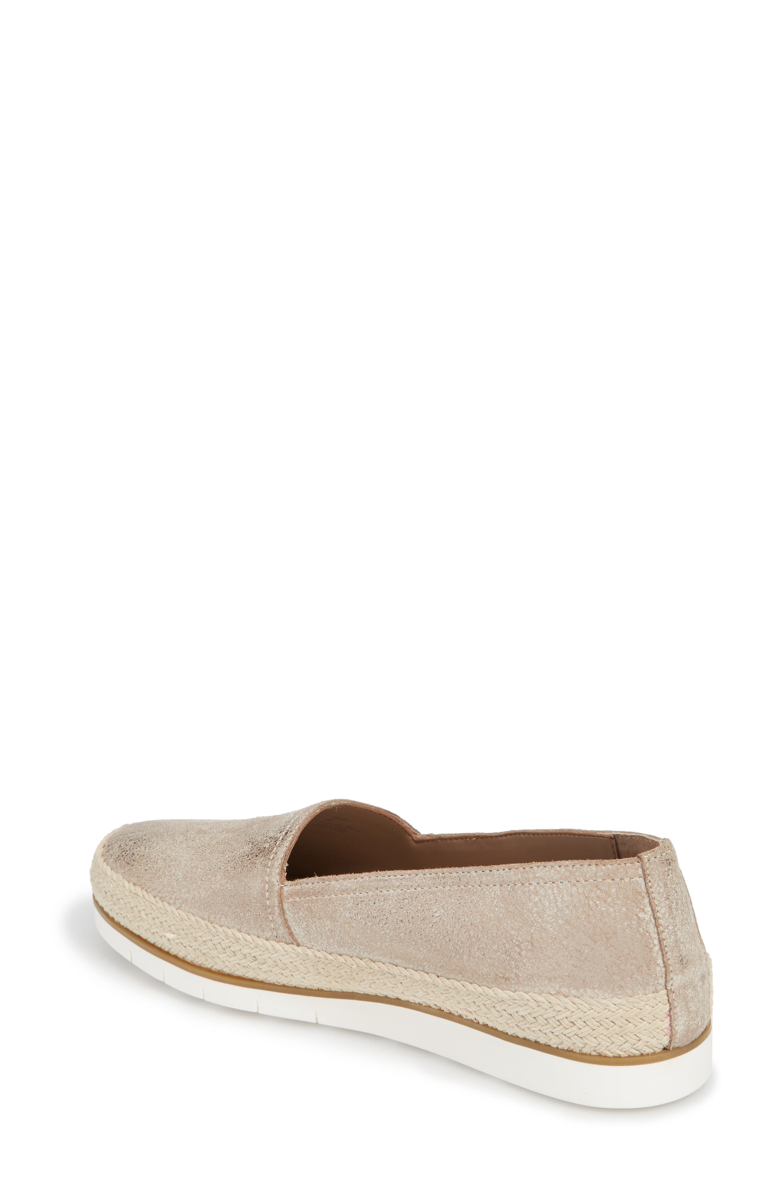 Palm Slip-On Sneaker,                             Alternate thumbnail 2, color,                             Taupe Fabric