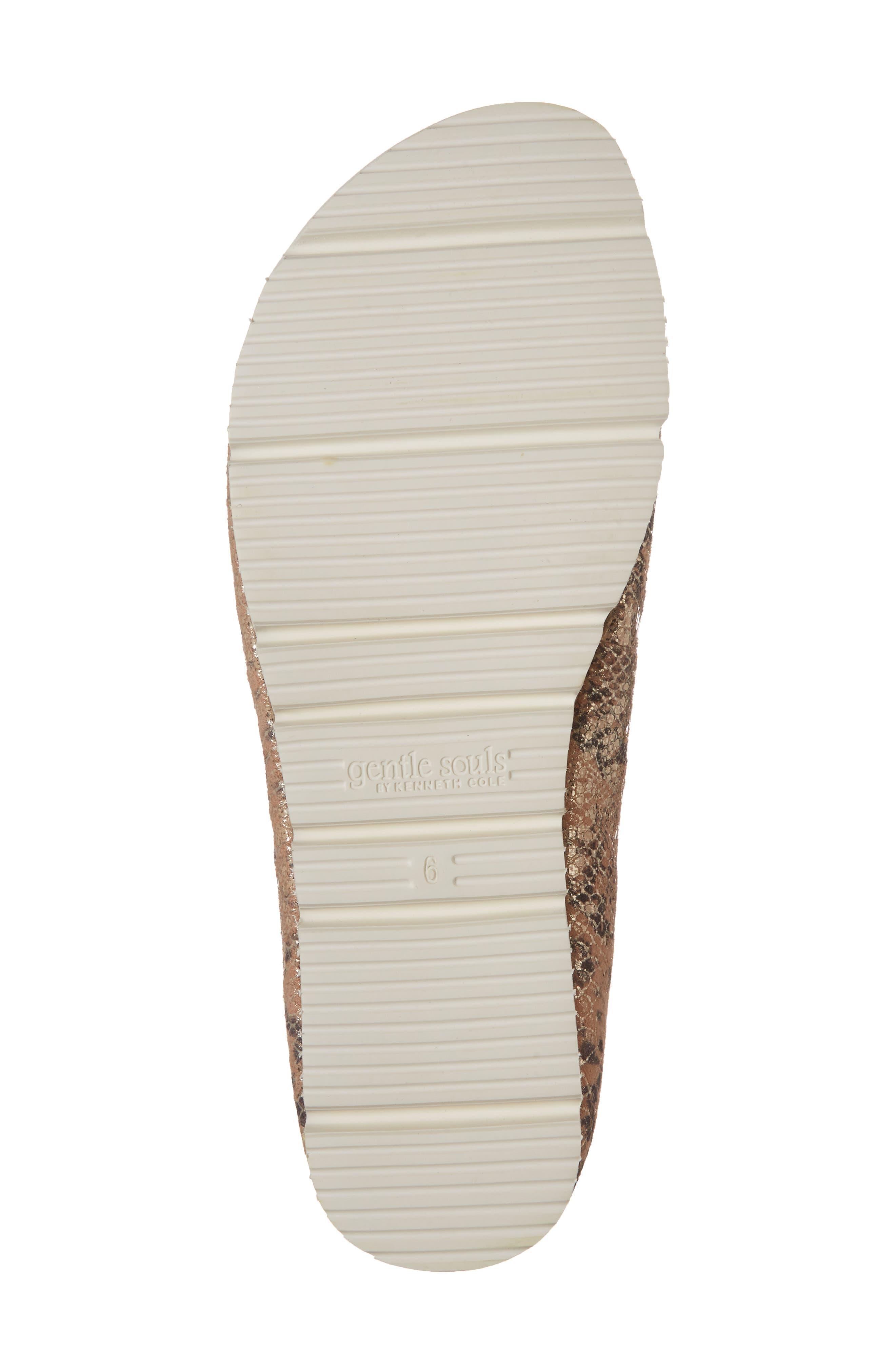 by Kenneth Cole Demi Flat,                             Alternate thumbnail 6, color,                             Rose Metallic Leather