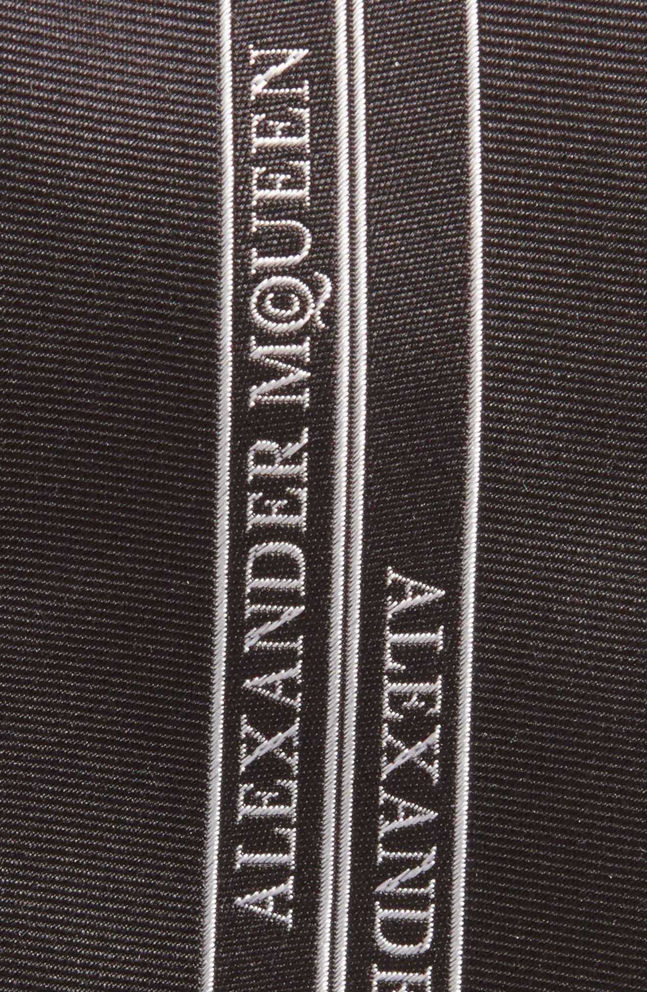 Silk Skinny Tie,                             Alternate thumbnail 2, color,                             Black