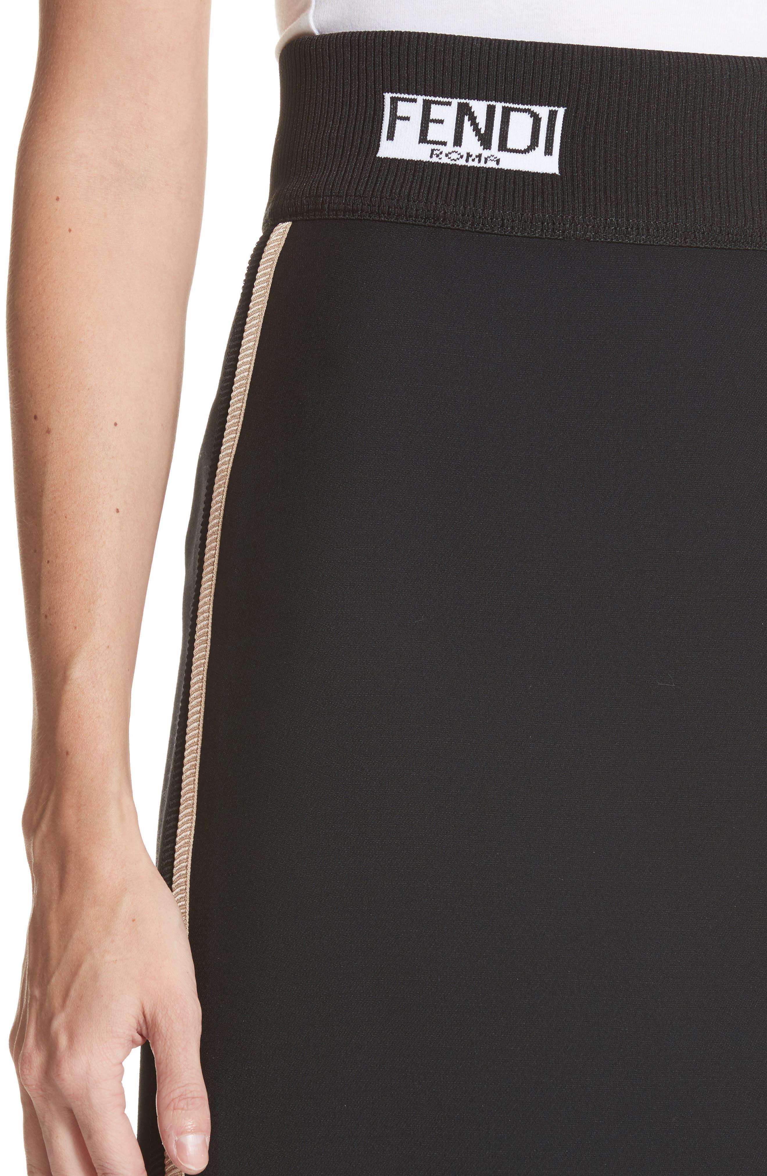 Alternate Image 4  - Fendi Wool & Silk Gazar Pencil Skirt