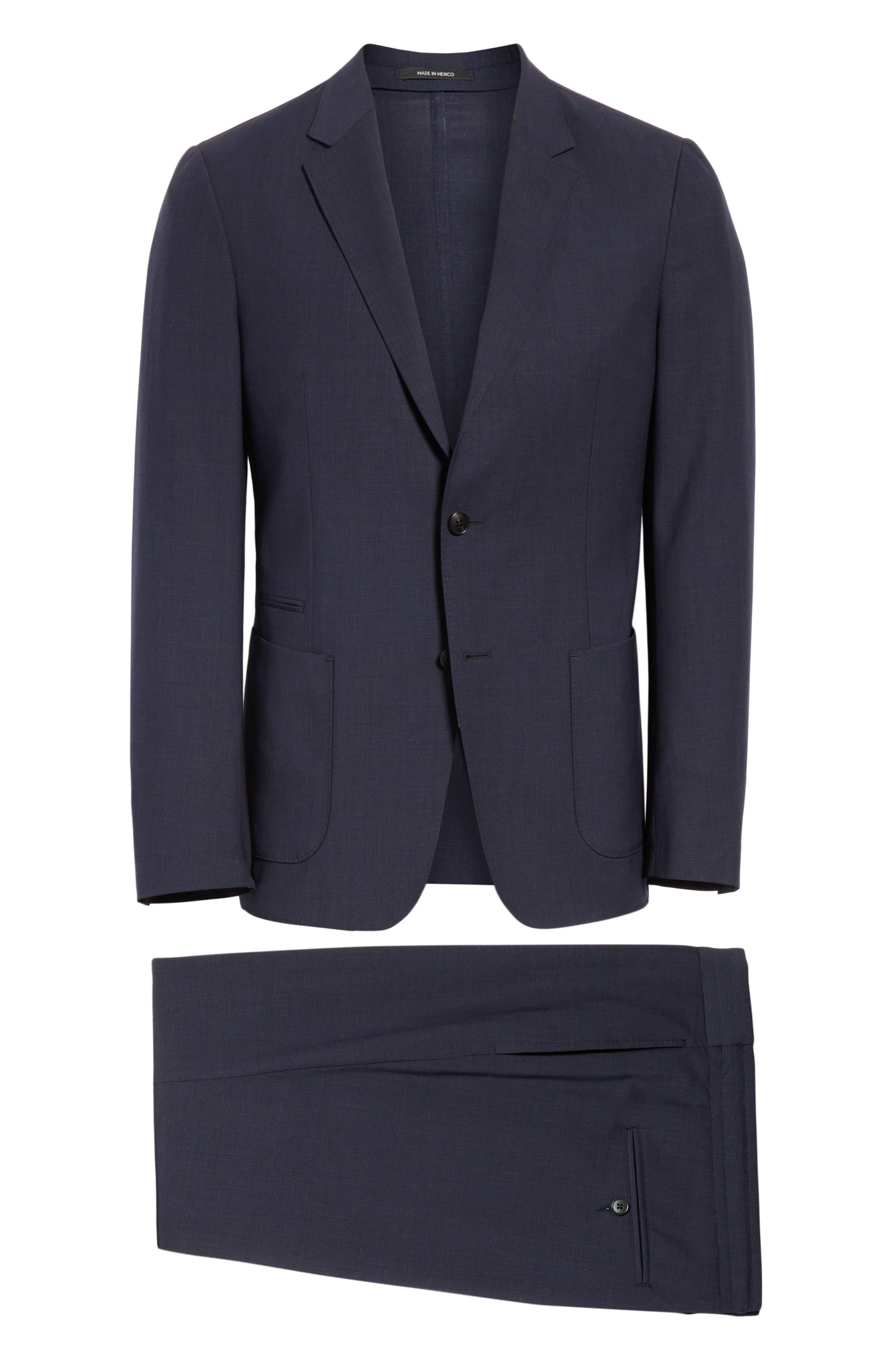 Alternate Image 9  - Z Zegna TECHMERINO™ Wash & Go Trim Fit Solid Wool Suit