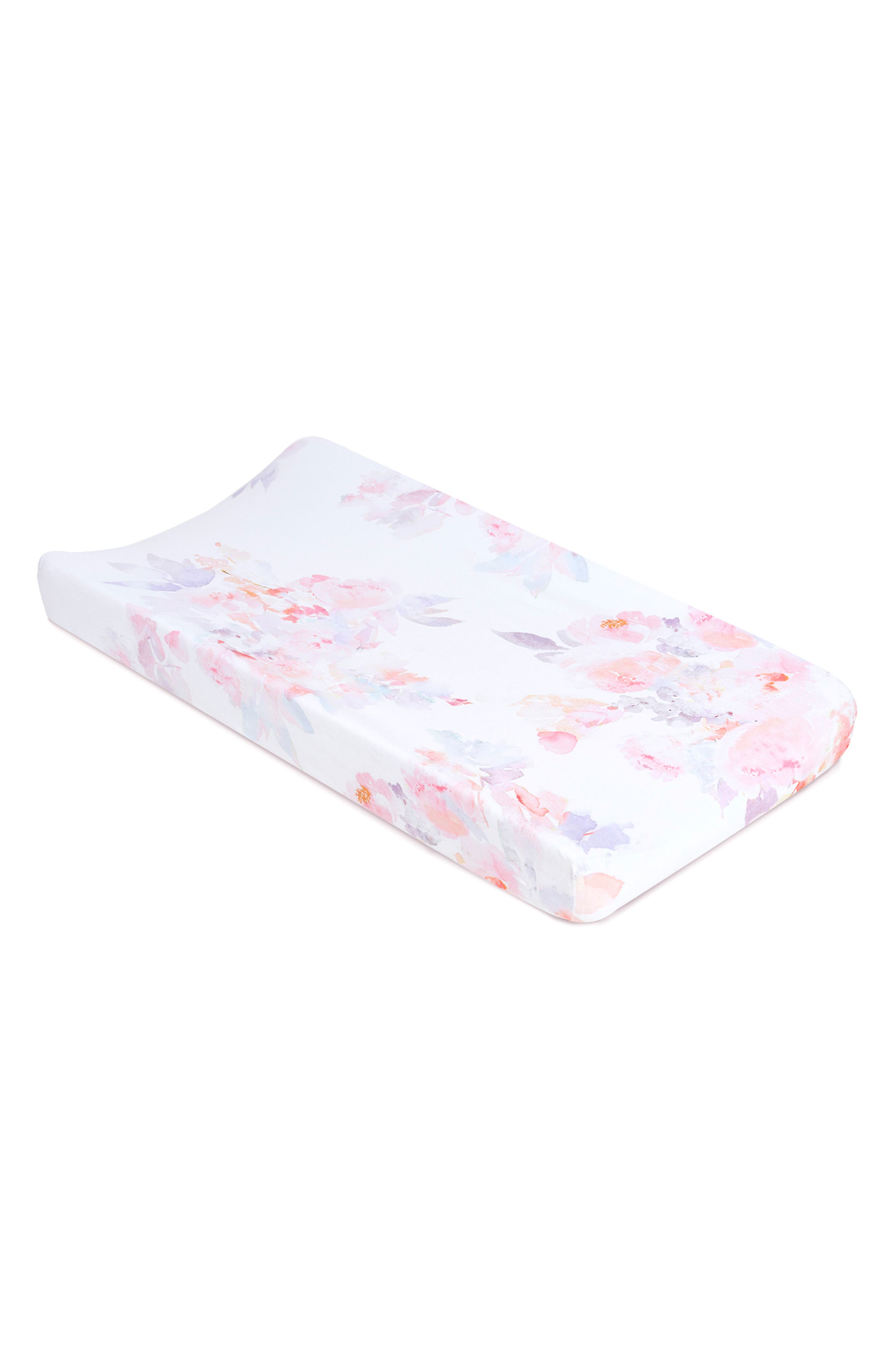 Alternate Image 2  - Oilo Prim 2-Pack Jersey Changing Pad Covers