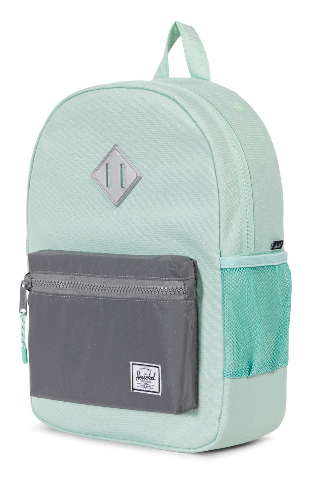 Heritage Backpack,                             Alternate thumbnail 3, color,                             Yucca/ Reflective Rubber