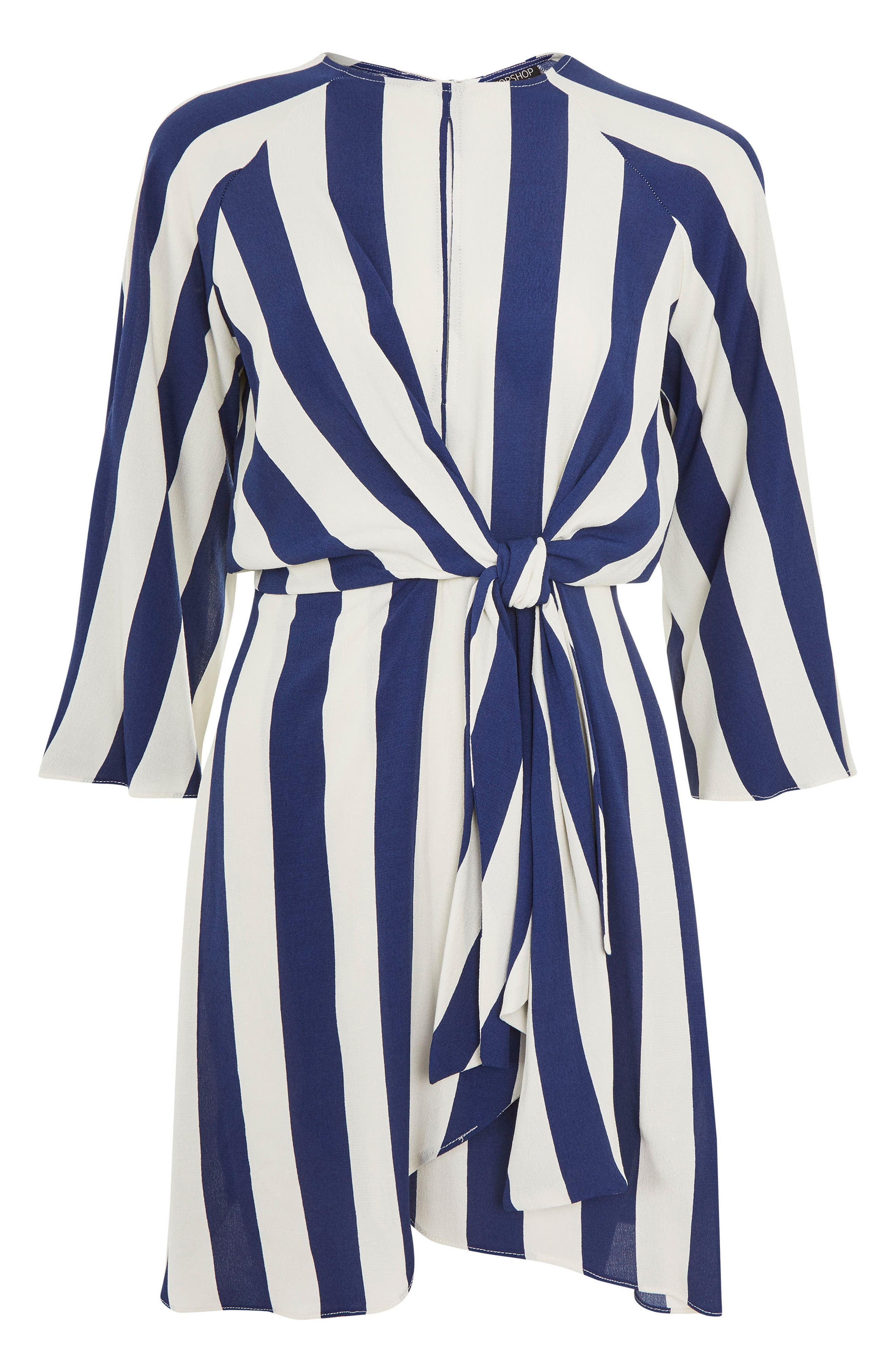 Alternate Image 3  - Topshop Humbug Stripe Knot Dress