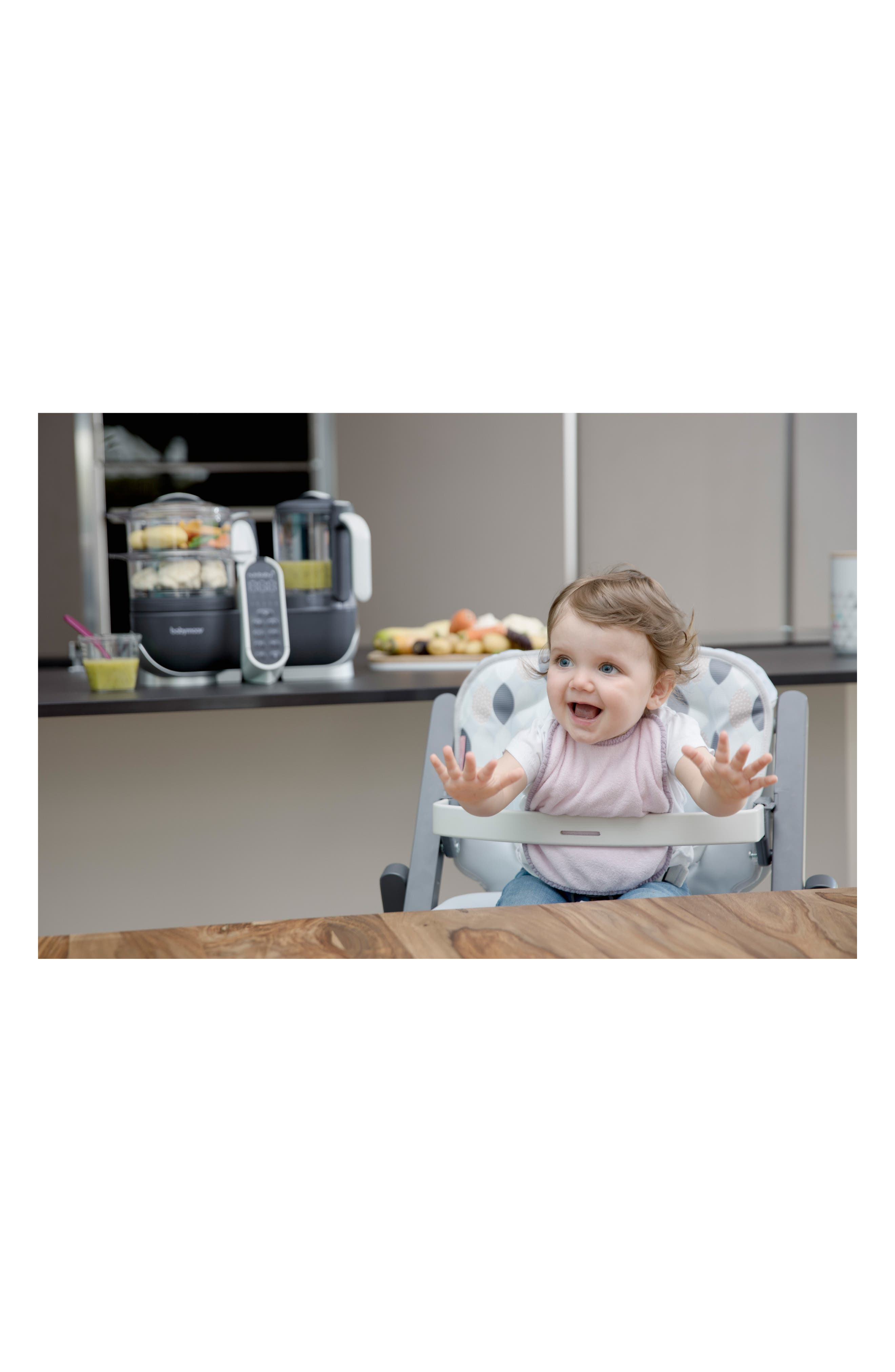 Nutribaby Duo Meal Station 5-in-1 Food Maker,                             Alternate thumbnail 4, color,                             Industrial Grey