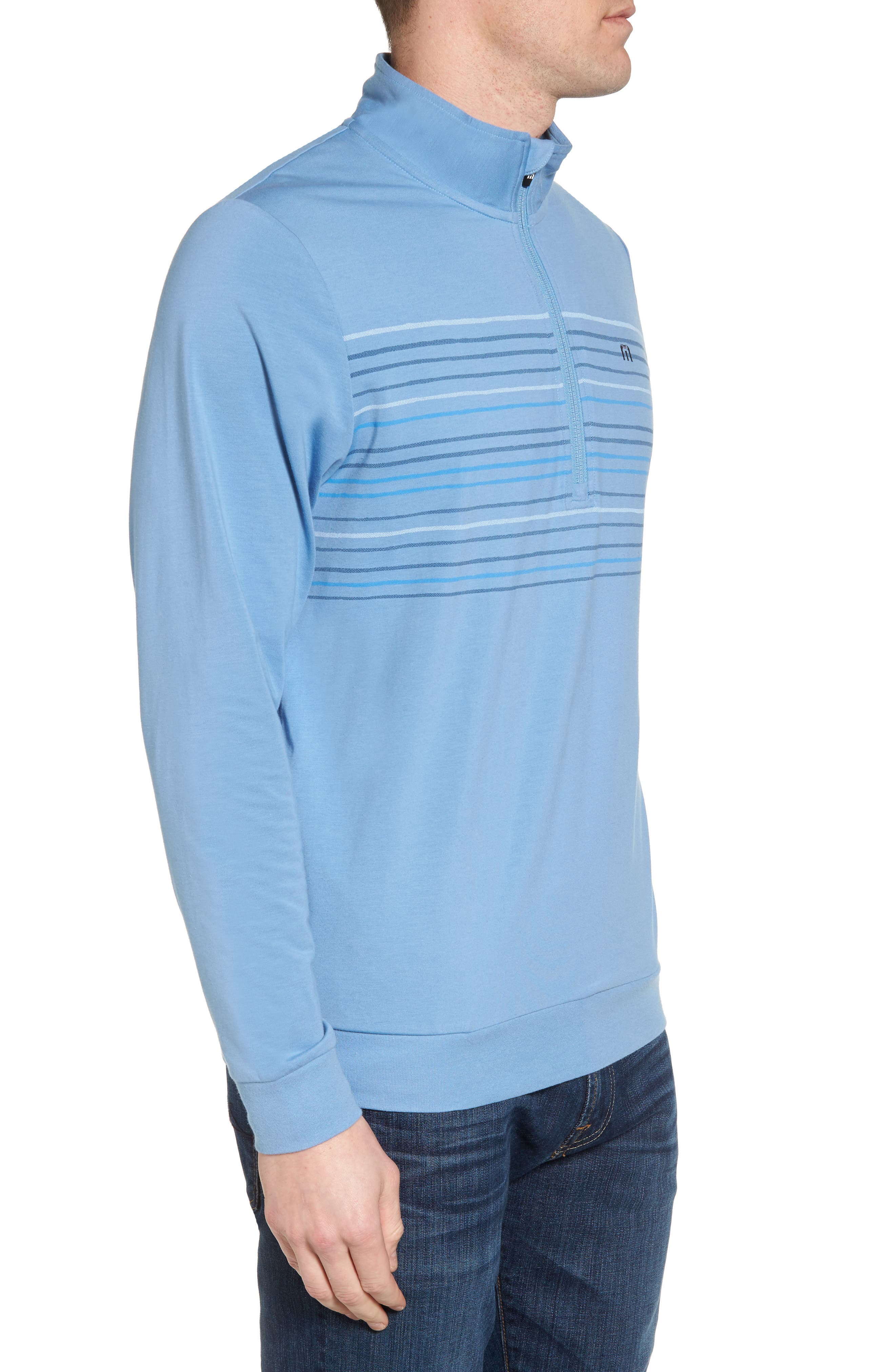 Vesa Quarter Zip Pullover,                             Alternate thumbnail 3, color,                             Allure