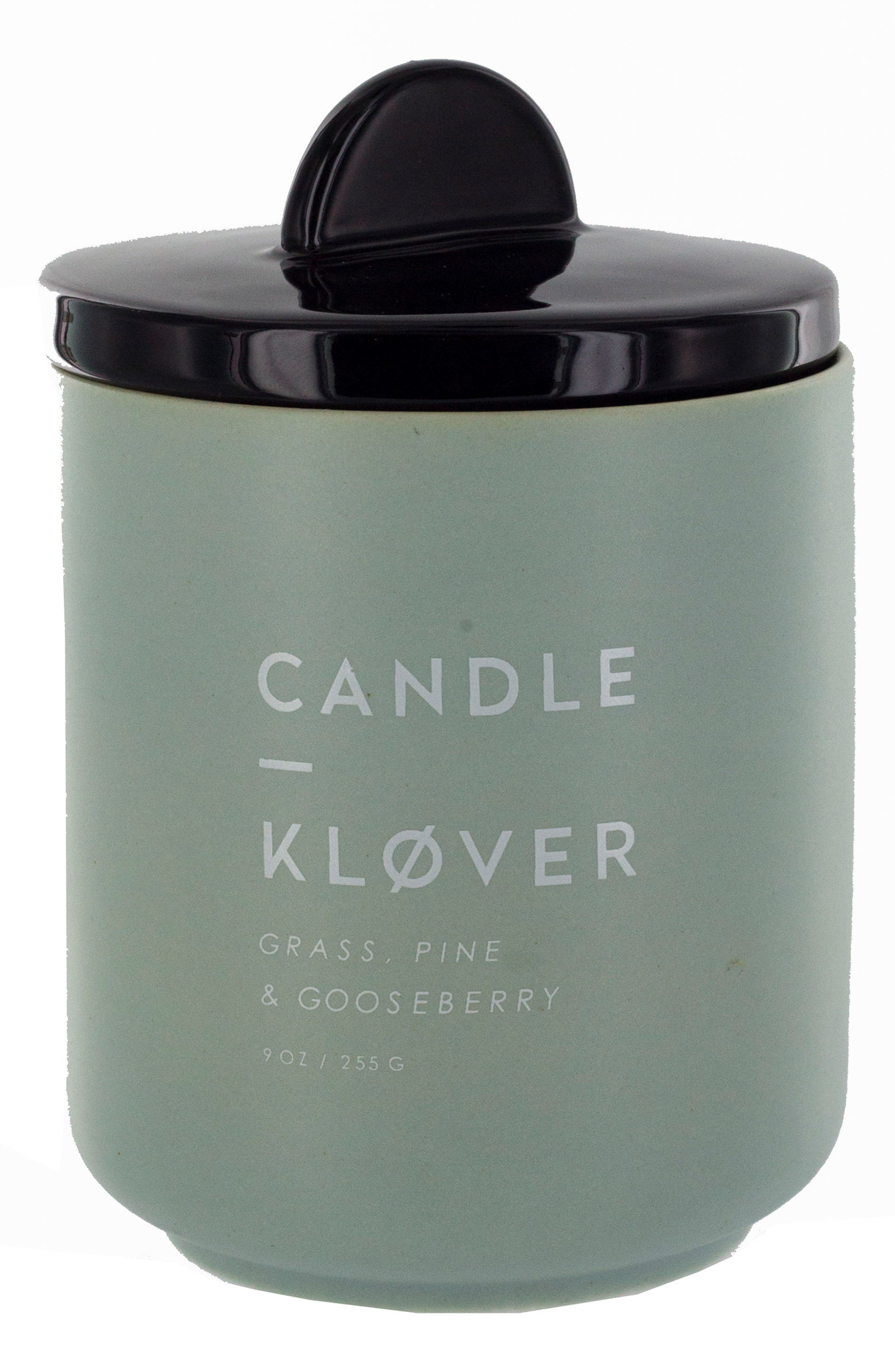 Scented Soy Wax Candle,                             Main thumbnail 1, color,                             Dusty Mint