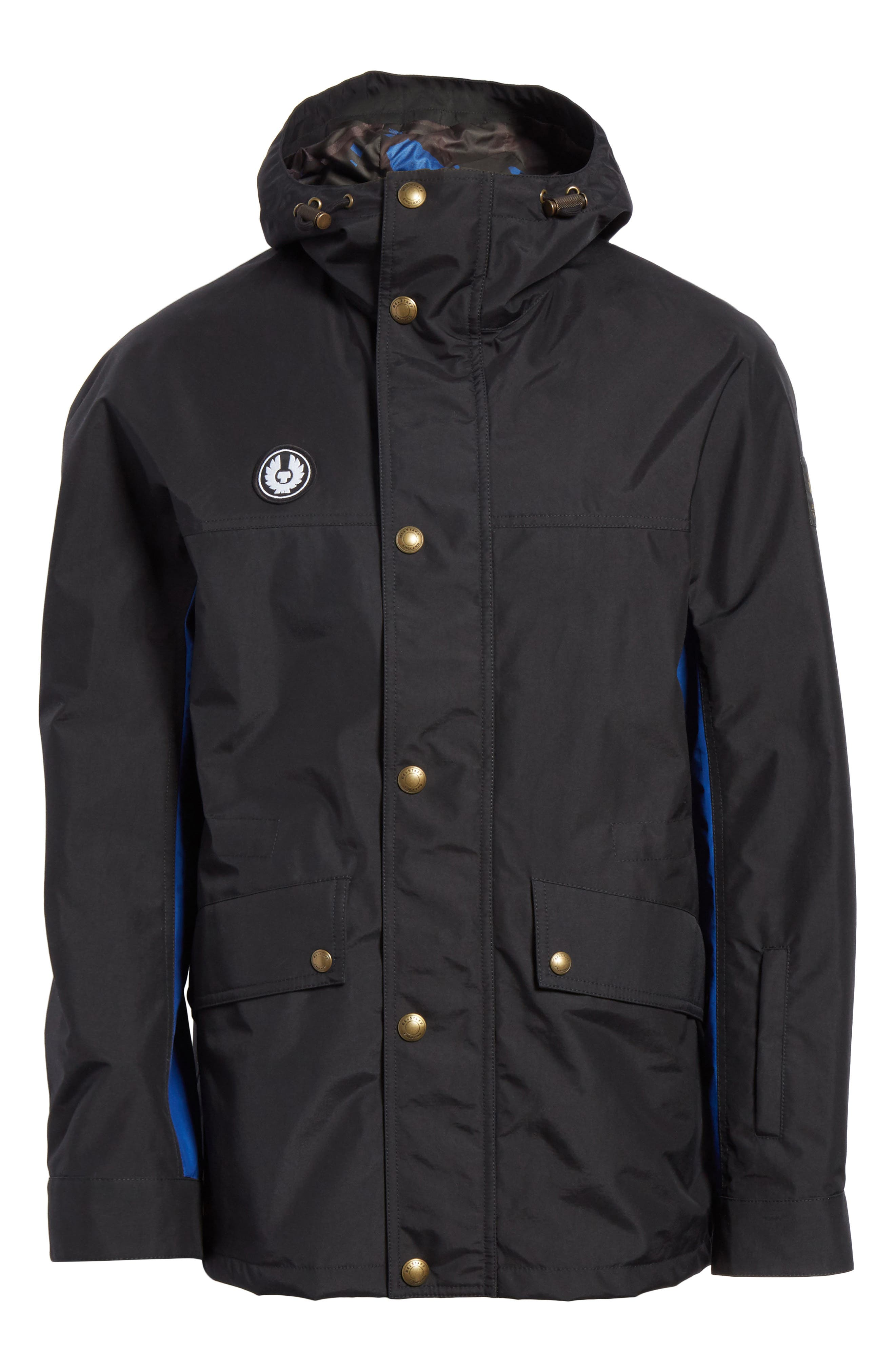 Kersbrook BXS Nylon Jacket,                             Alternate thumbnail 6, color,                             Black