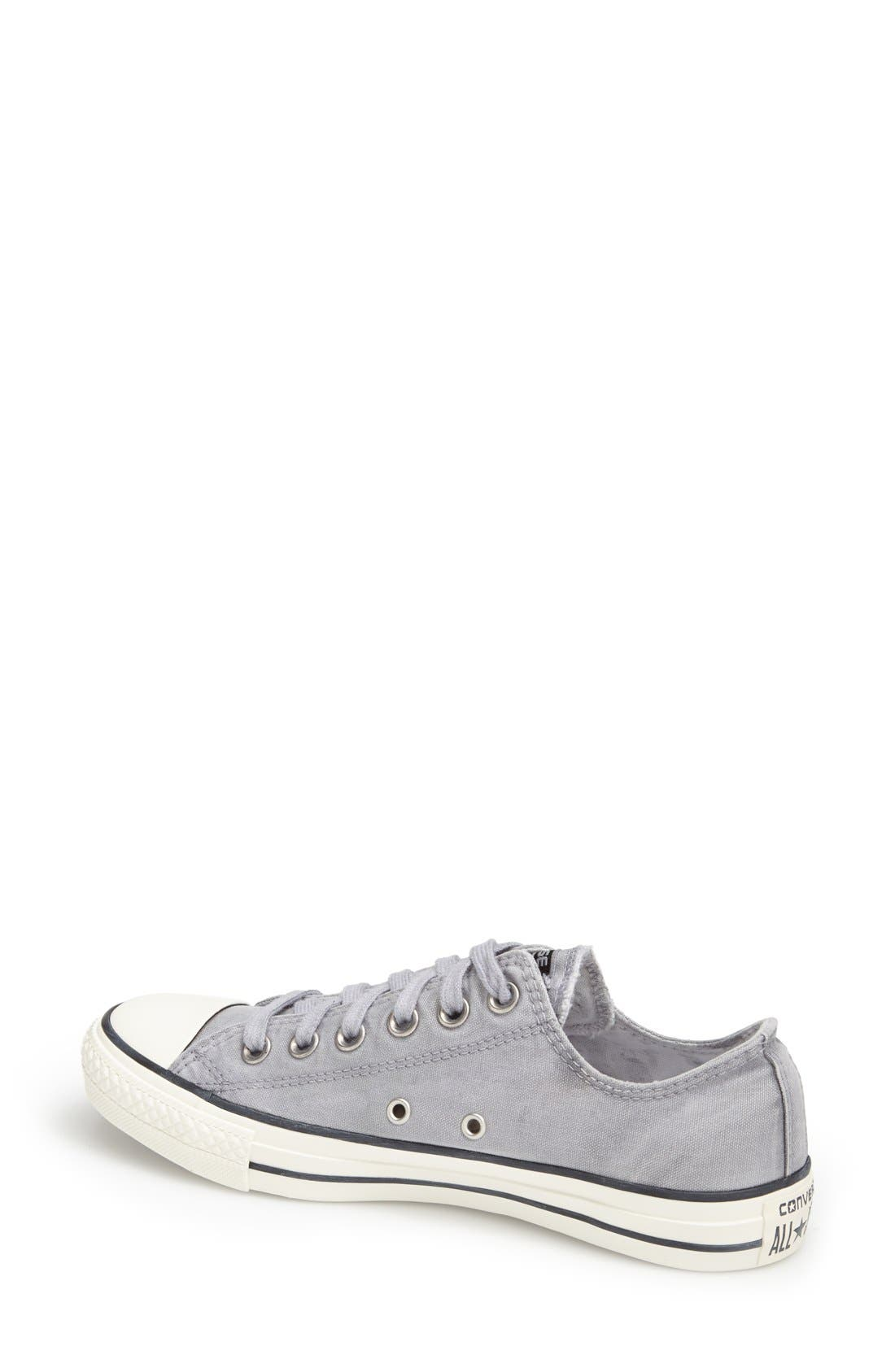 Alternate Image 2  - Converse Chuck Taylor® All Star® 'White Wash Ox' Sneaker (Women)
