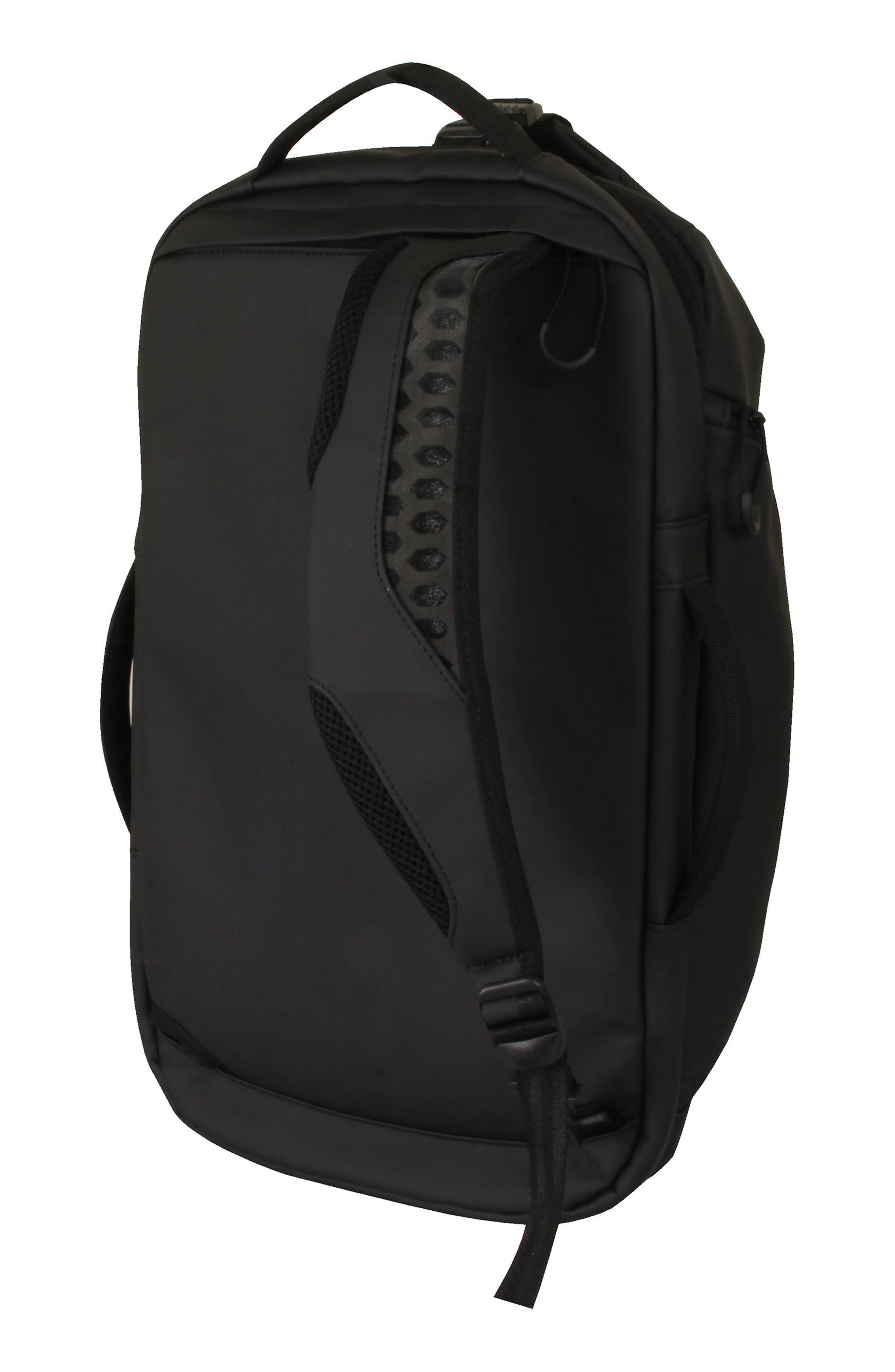 The Protocol Hybrid Duffel Backpack,                             Alternate thumbnail 2, color,                             Black