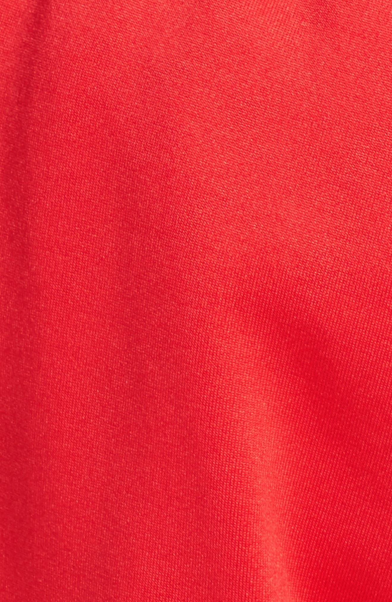 PSWL Jersey Track Pants,                             Alternate thumbnail 7, color,                             Poppy