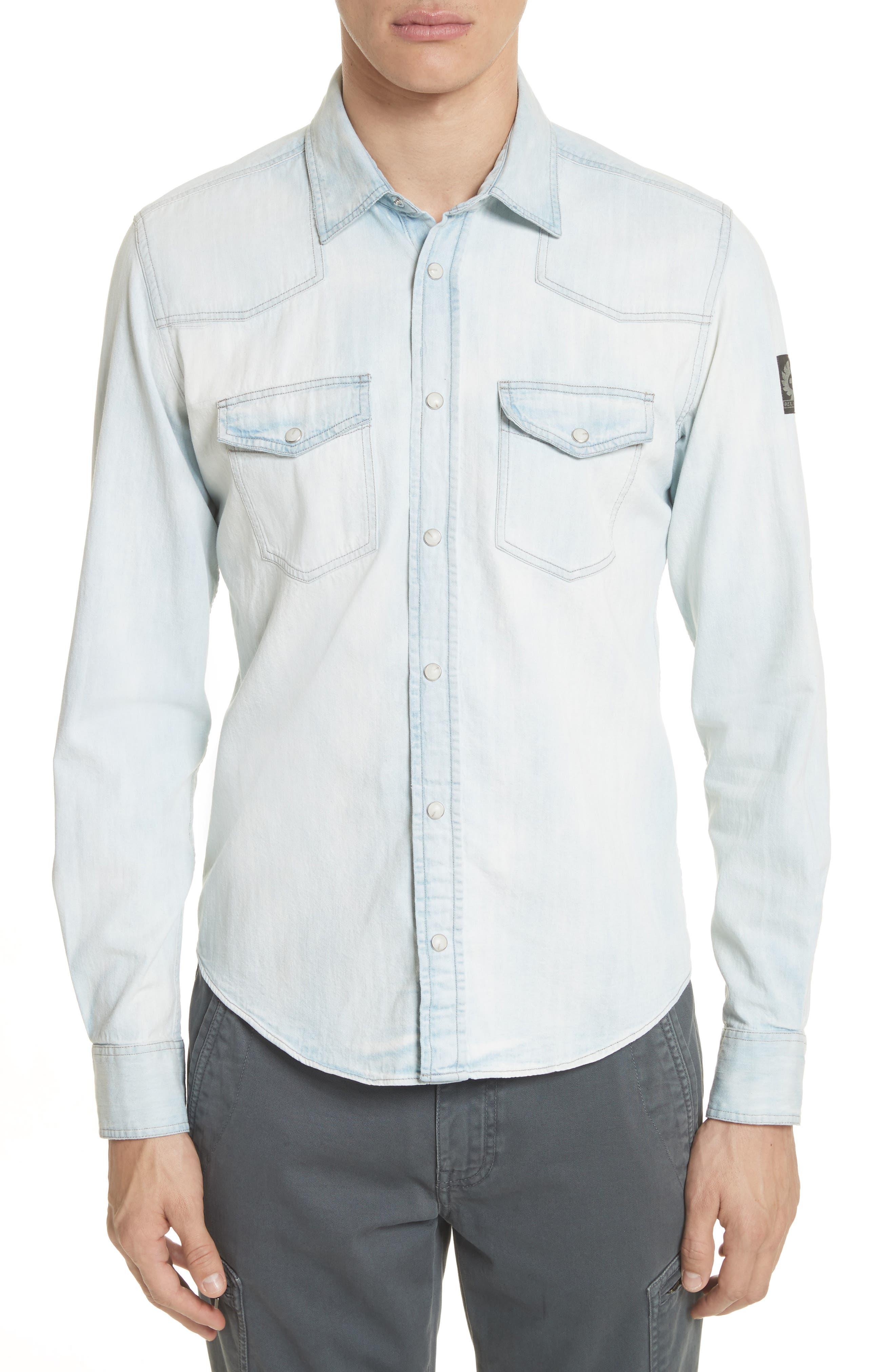 Belstaff Denim Woven Shirt