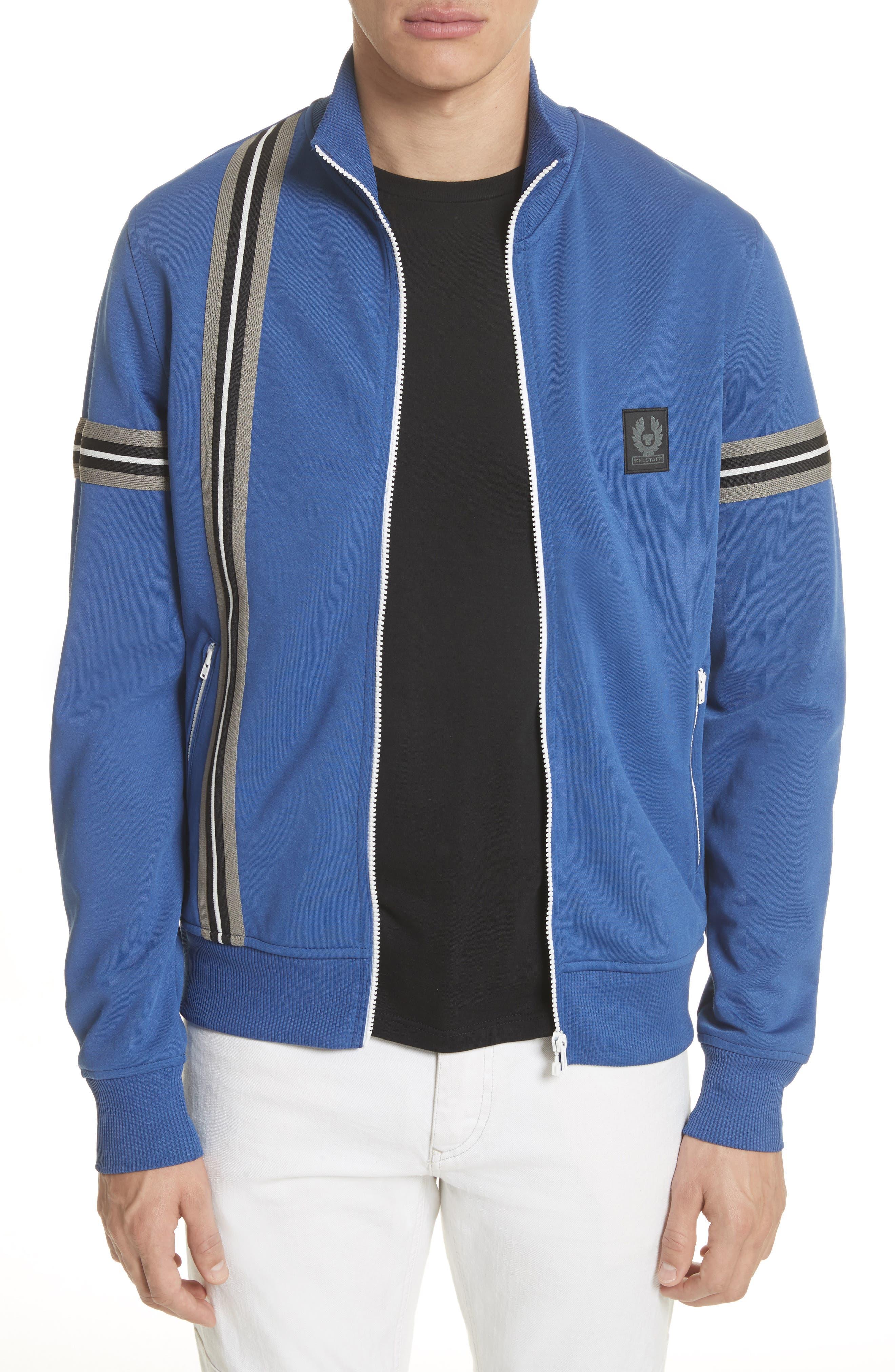 Helmsdale Track Jacket,                             Main thumbnail 1, color,                             Deep Electric Blue