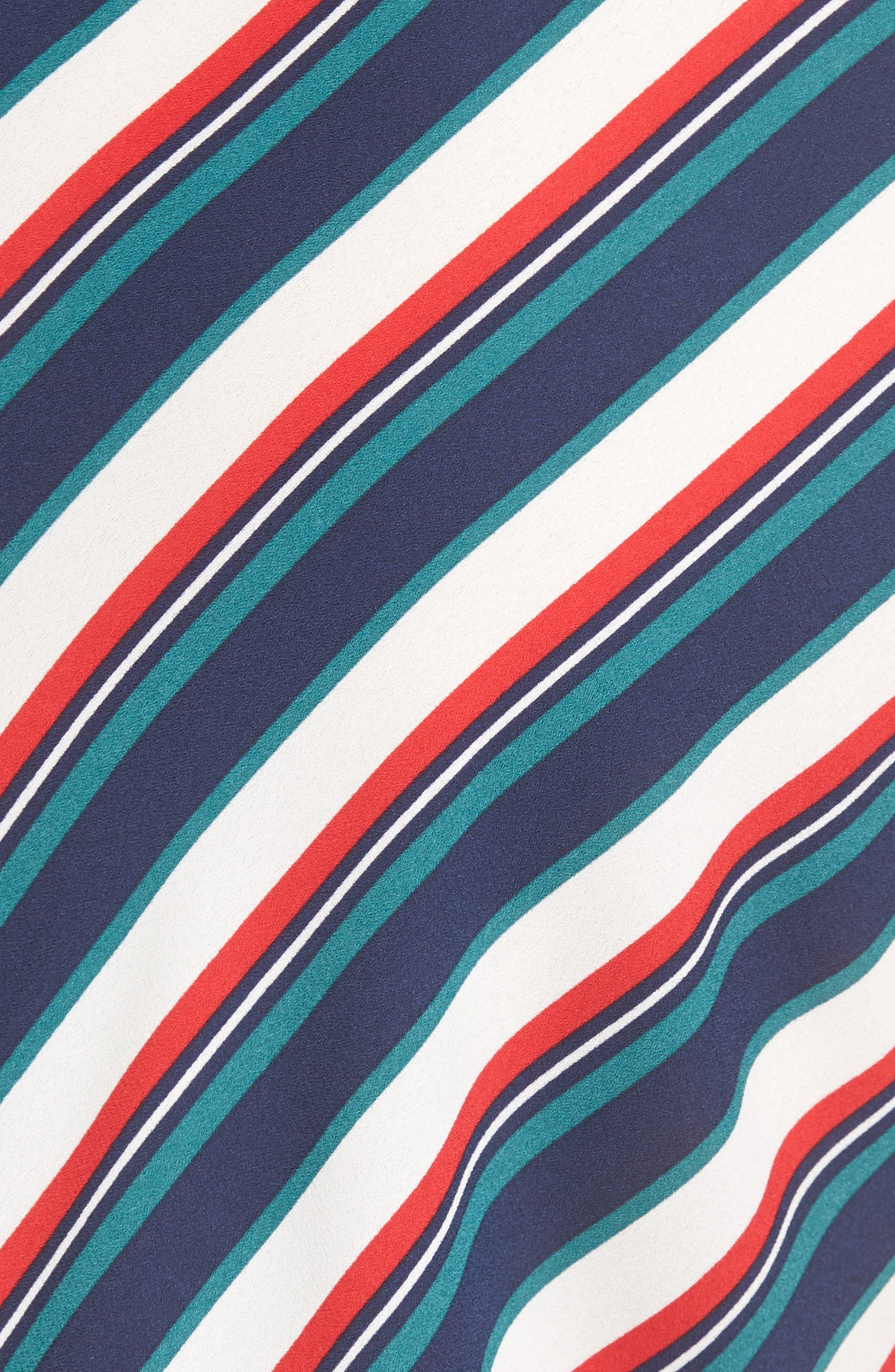 Alternate Image 5  - Trouvé Stripe Wrap Top