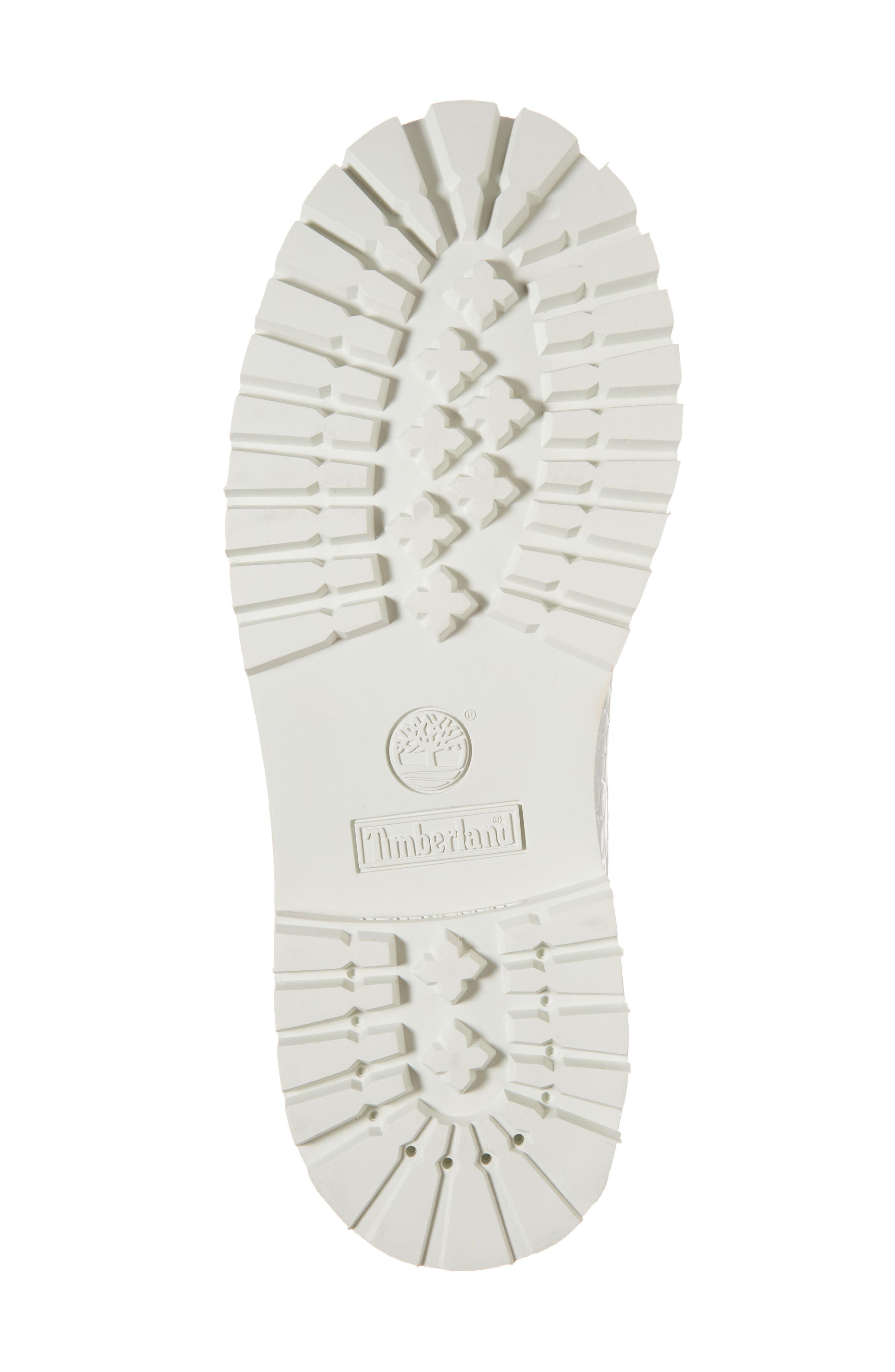 6-Inch Premium Waterproof Boot,                             Alternate thumbnail 6, color,                             White Cardinal Exotic