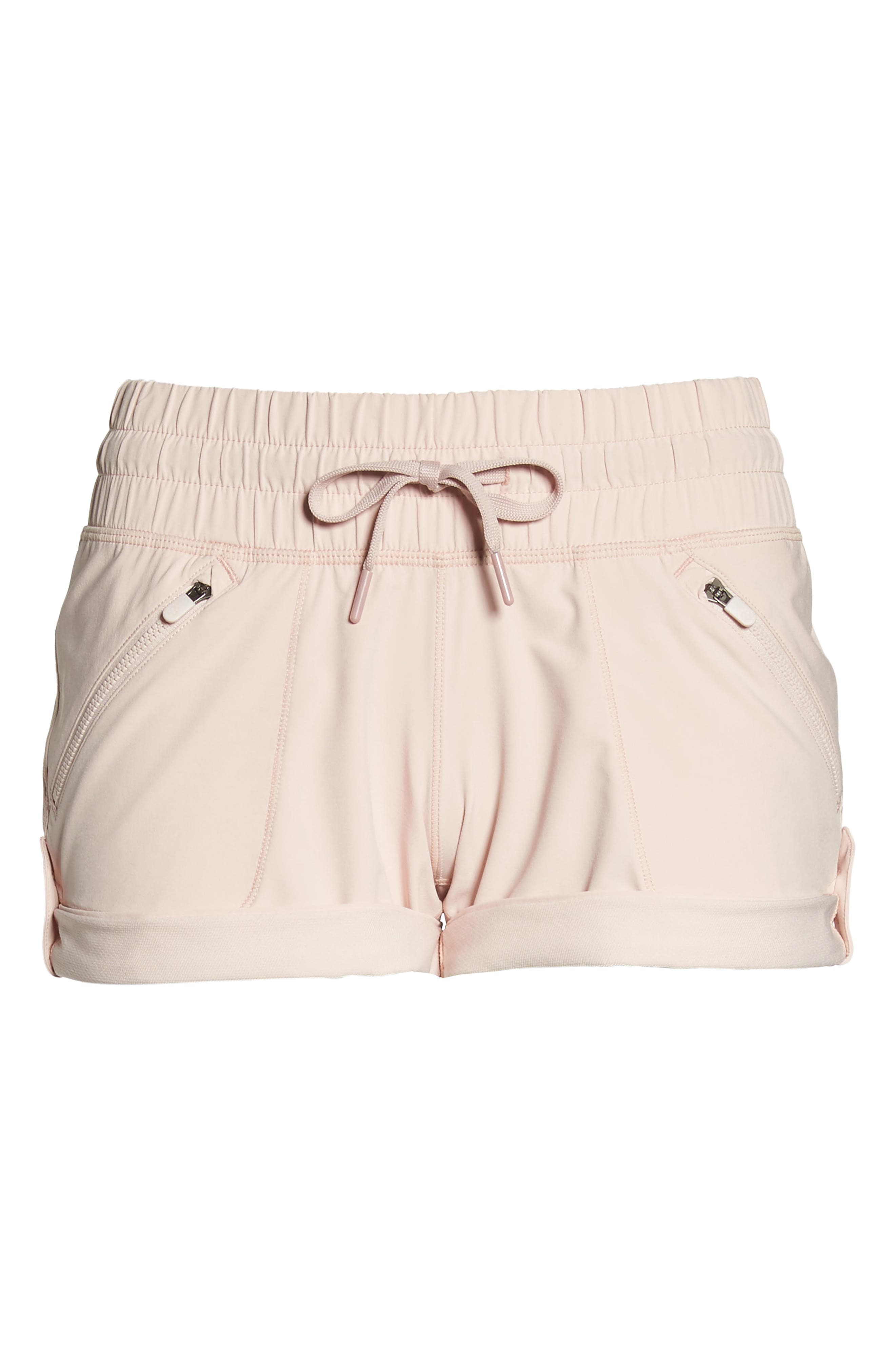 Switchback Shorts,                             Alternate thumbnail 6, color,                             Pink Sepia