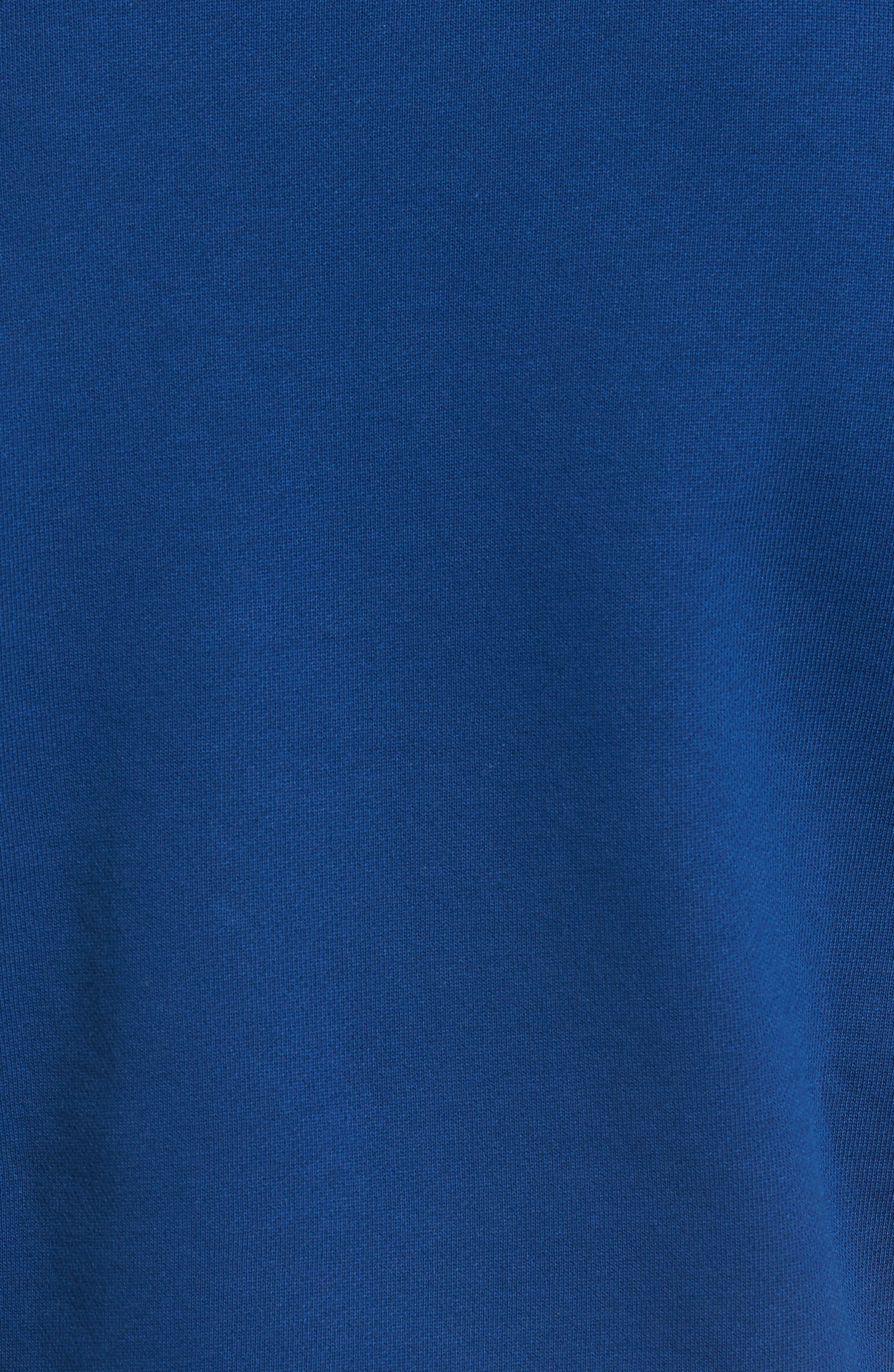 Alternate Image 5  - Lacoste Lettering Fleece Sweatshirt