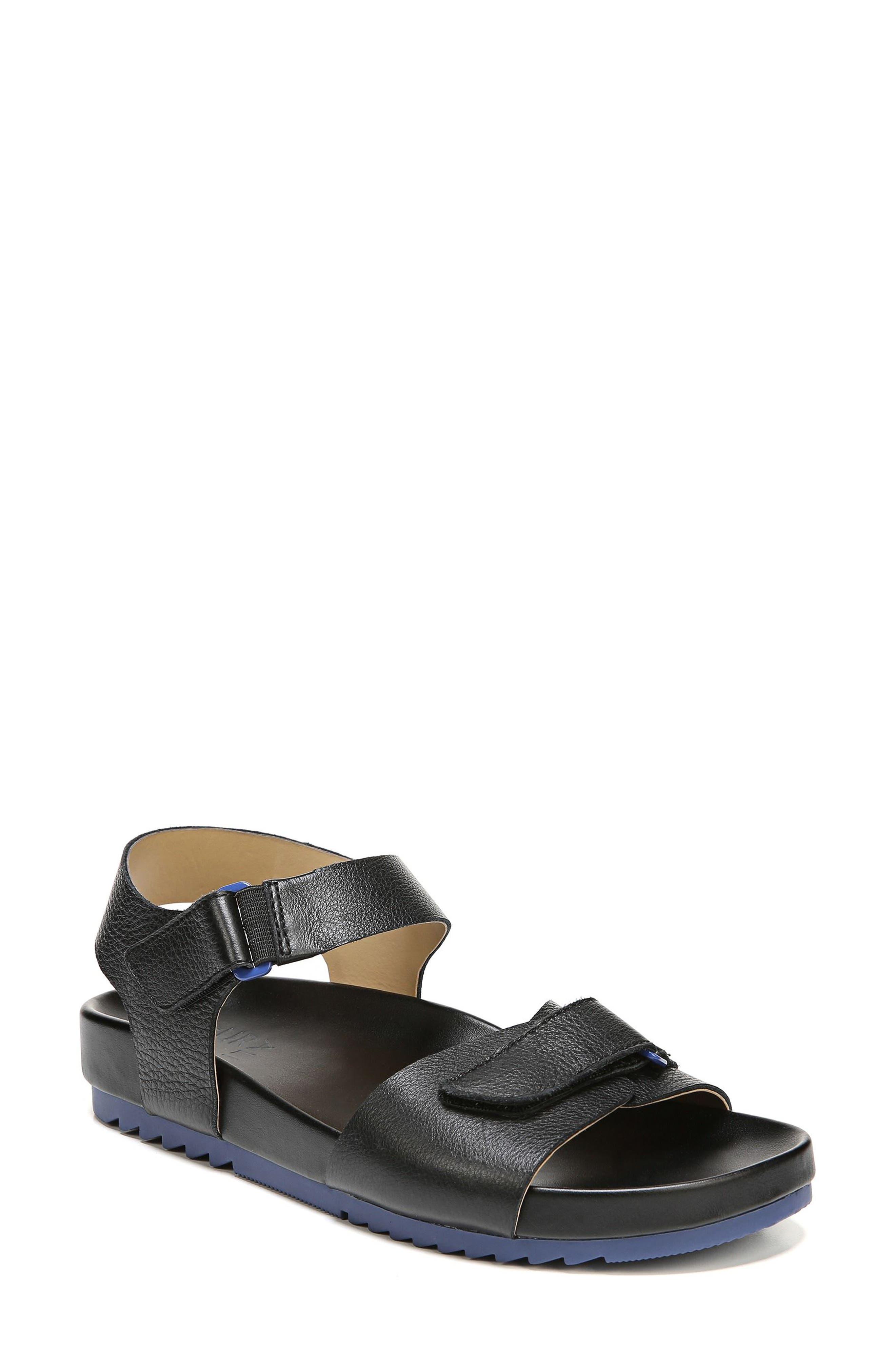 Ari Sandal,                         Main,                         color, Black Pebble Leather