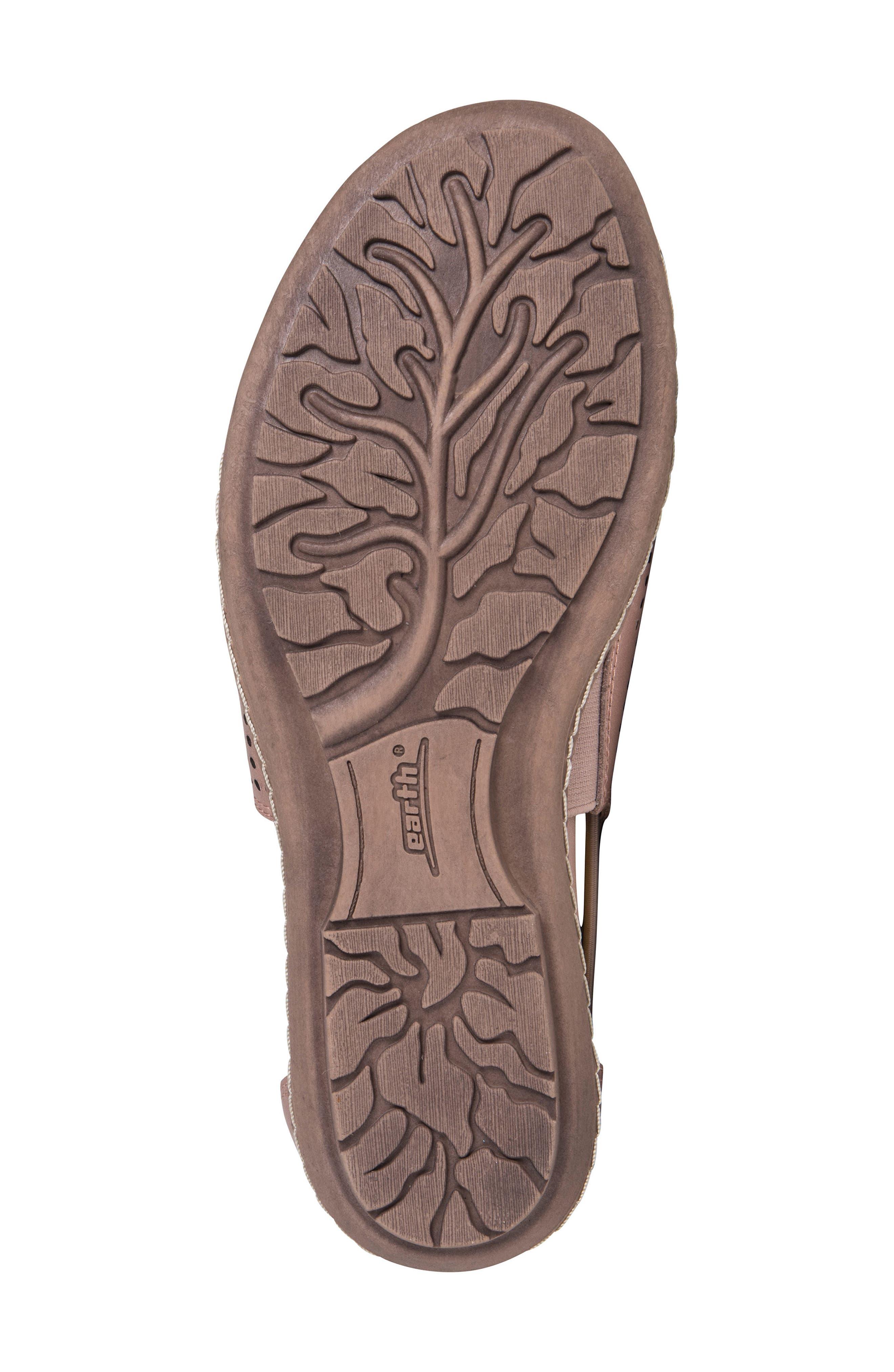 Shelly Sandal,                             Alternate thumbnail 5, color,                             Blush Metallic Leather