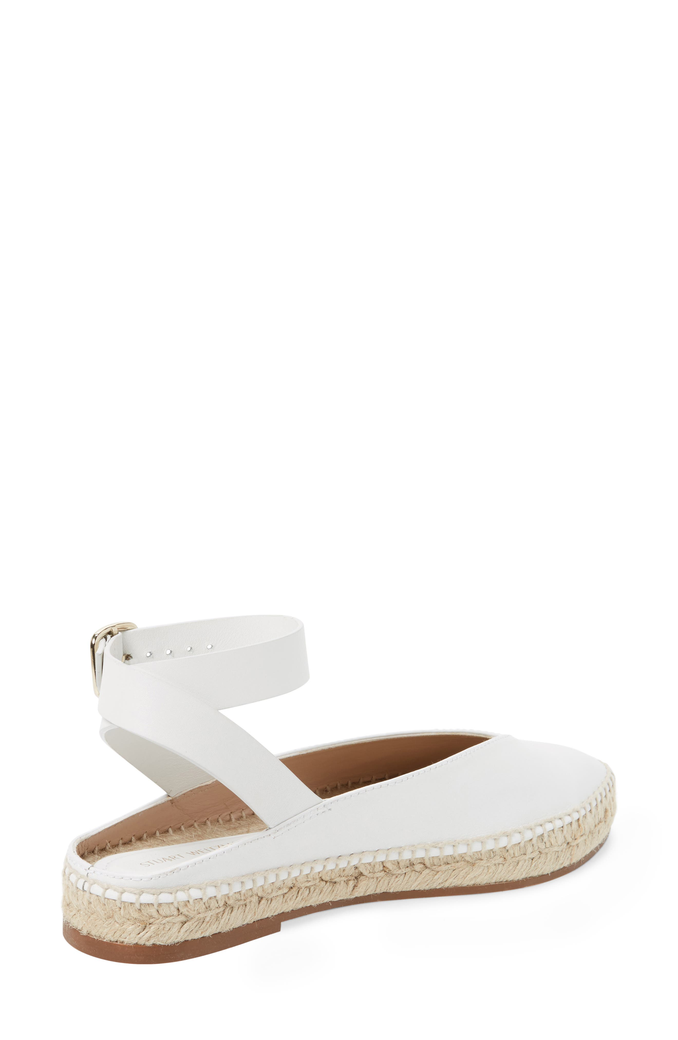 Toga Ankle Wrap Espadrille,                             Alternate thumbnail 2, color,                             Off White Arizona