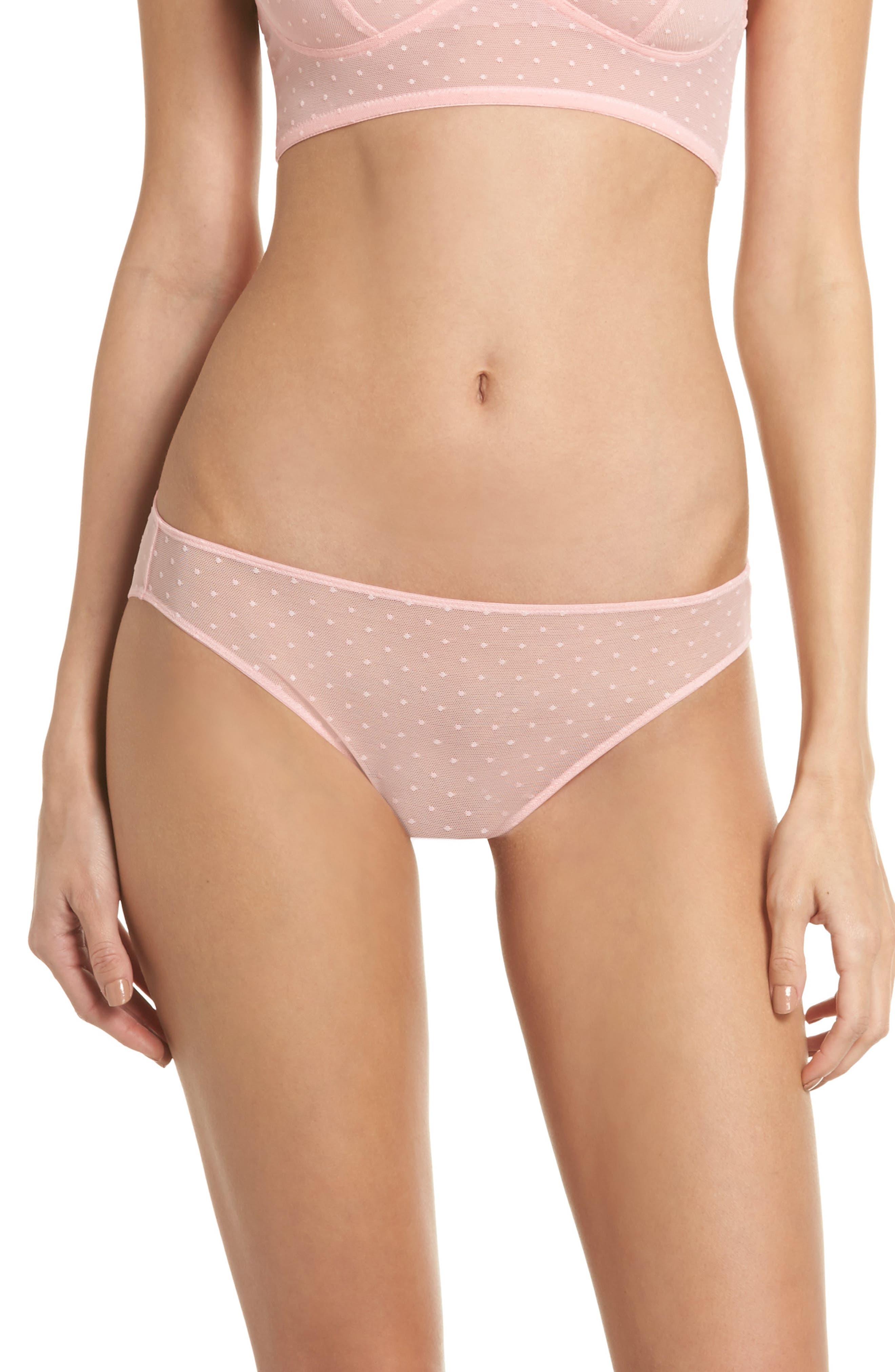 Main Image - Madewell Swiss Dot Bikini (3 for $33)
