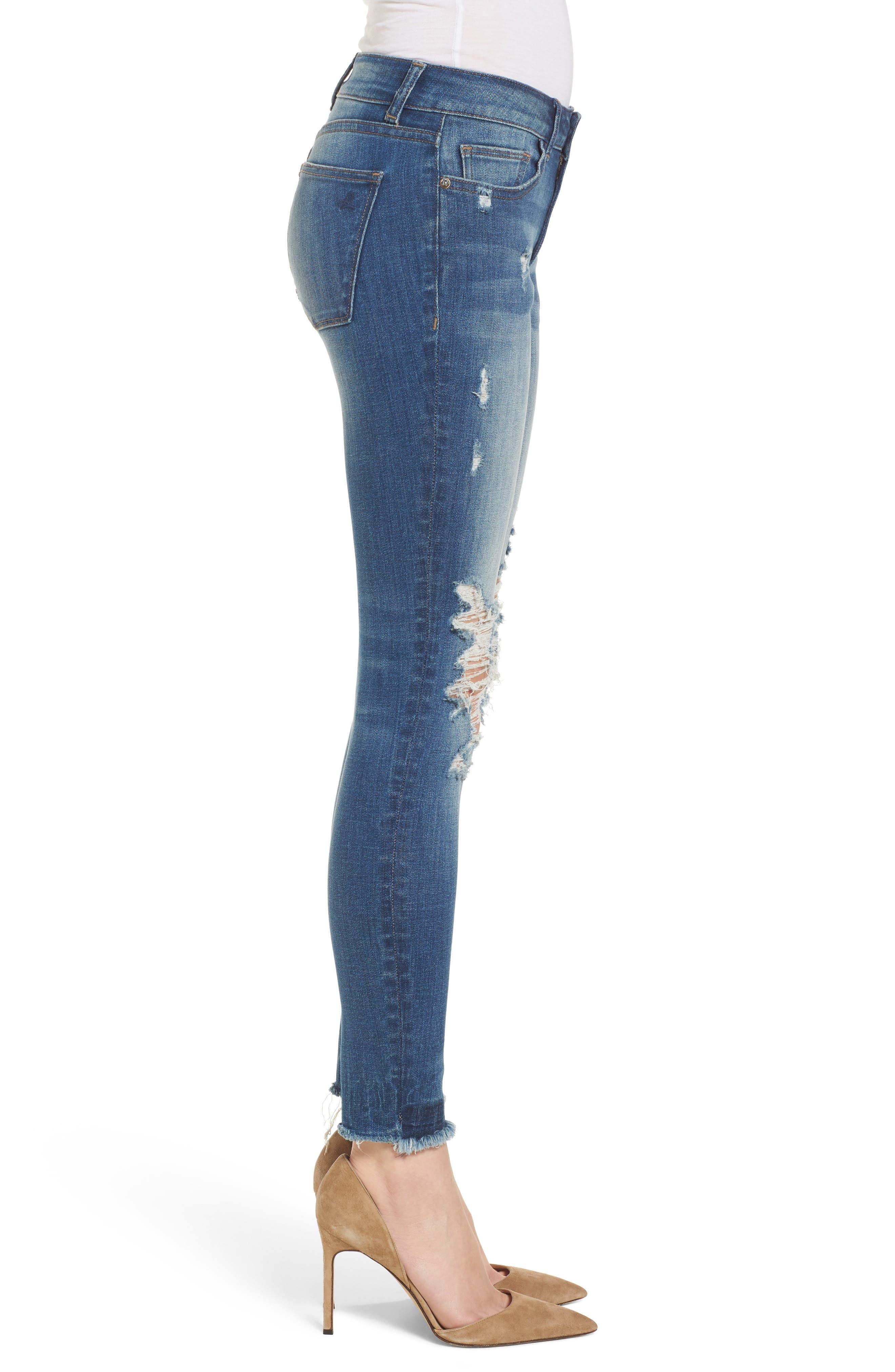 Emma Power Legging Jeans,                             Alternate thumbnail 3, color,                             Westwood